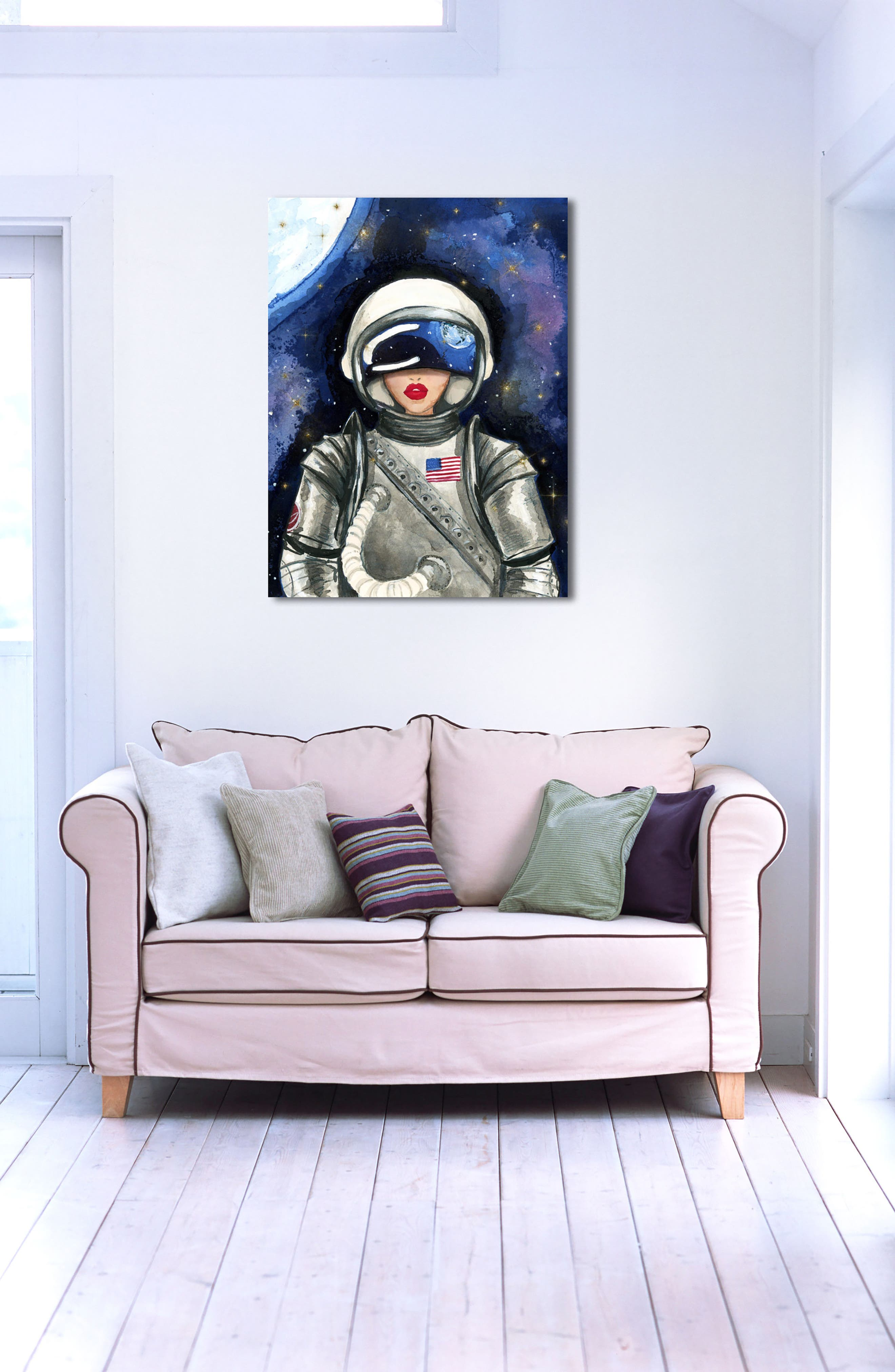 Alternate Image 3  - Oliver Gal Astronaut Canvas Wall Art