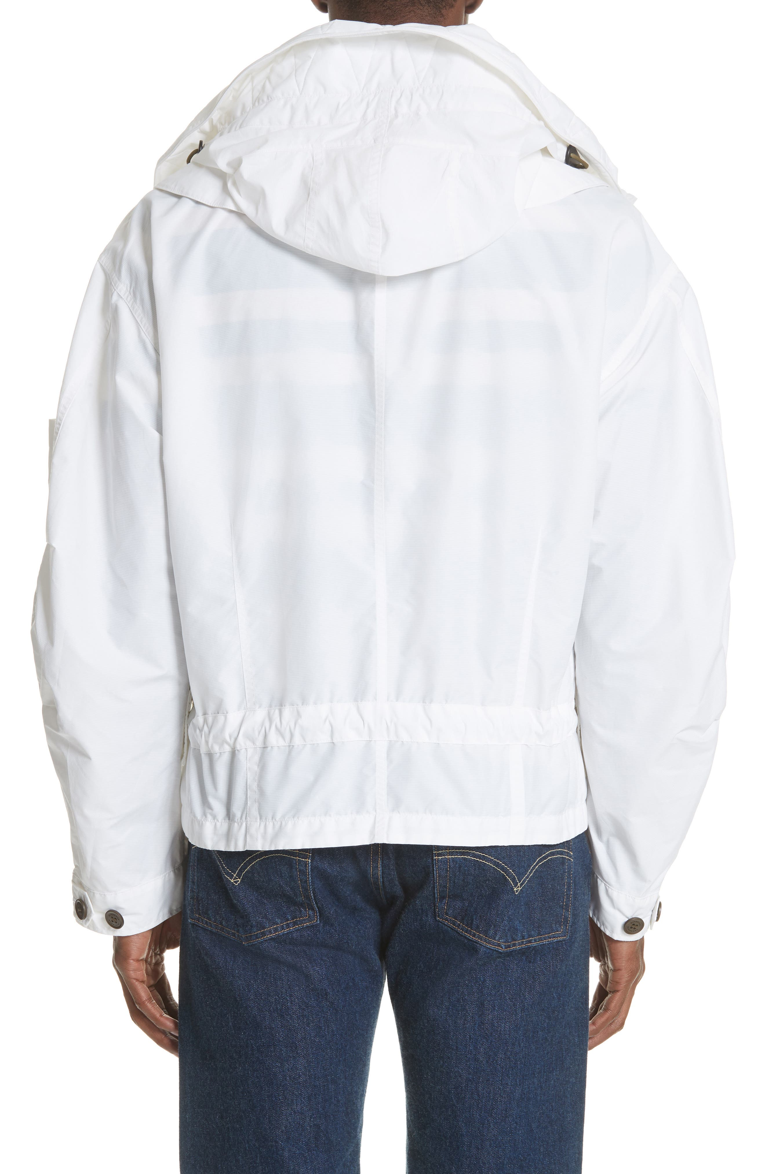 Shenwood Tech Jacket with Detachable Hood,                             Alternate thumbnail 2, color,                             White
