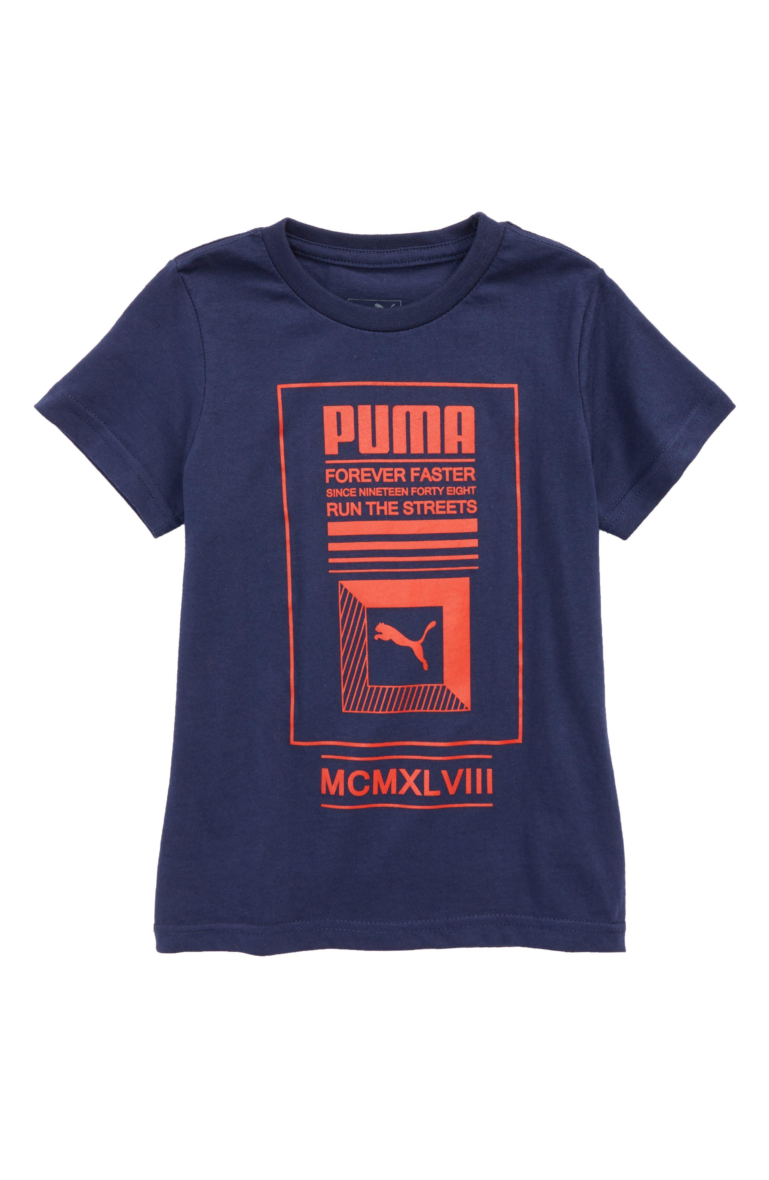 Graphic T-Shirt,                         Main,                         color, Peacoat
