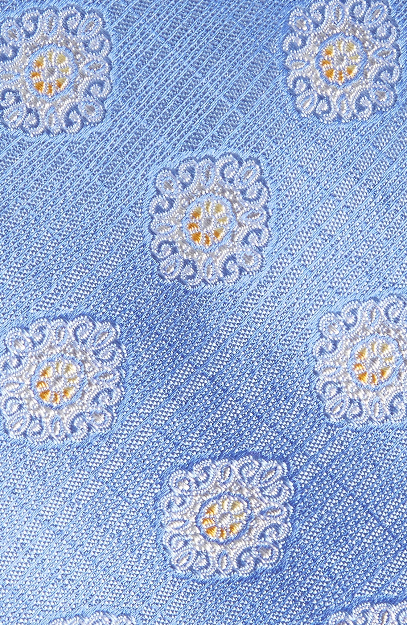 Armas Medallion Silk Tie,                             Alternate thumbnail 2, color,                             Blue