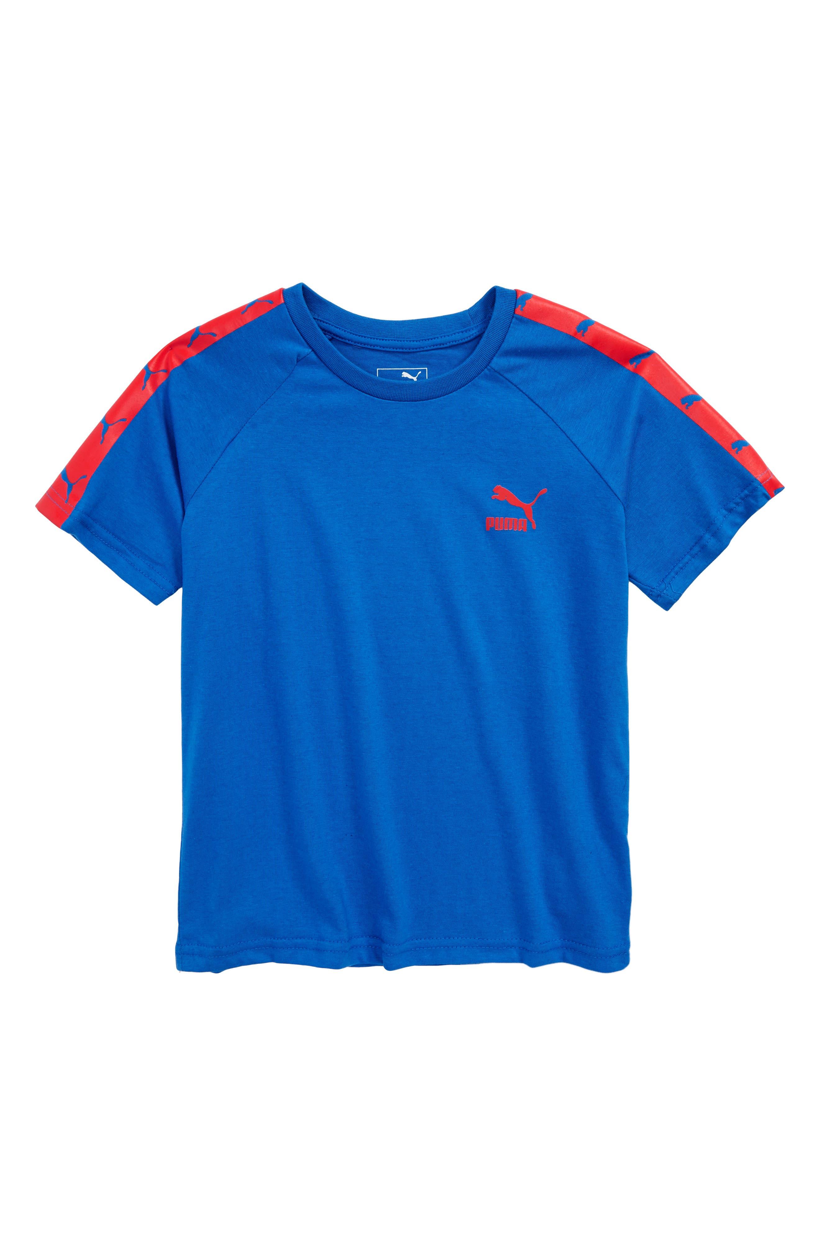 Logo Graphic T-Shirt,                             Main thumbnail 1, color,                             Turkish Sea