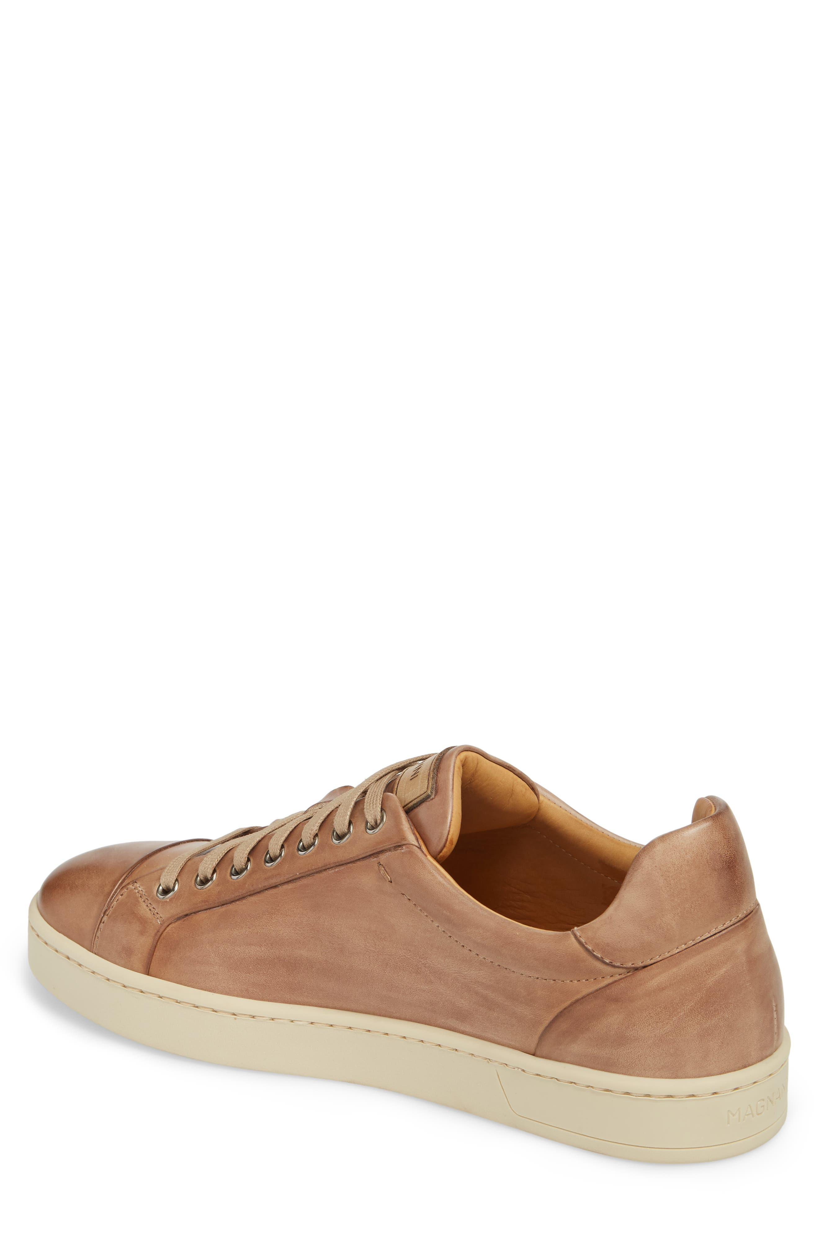 Erardo Low Top Sneaker,                             Alternate thumbnail 2, color,                             Taupe/ Taupe Leather