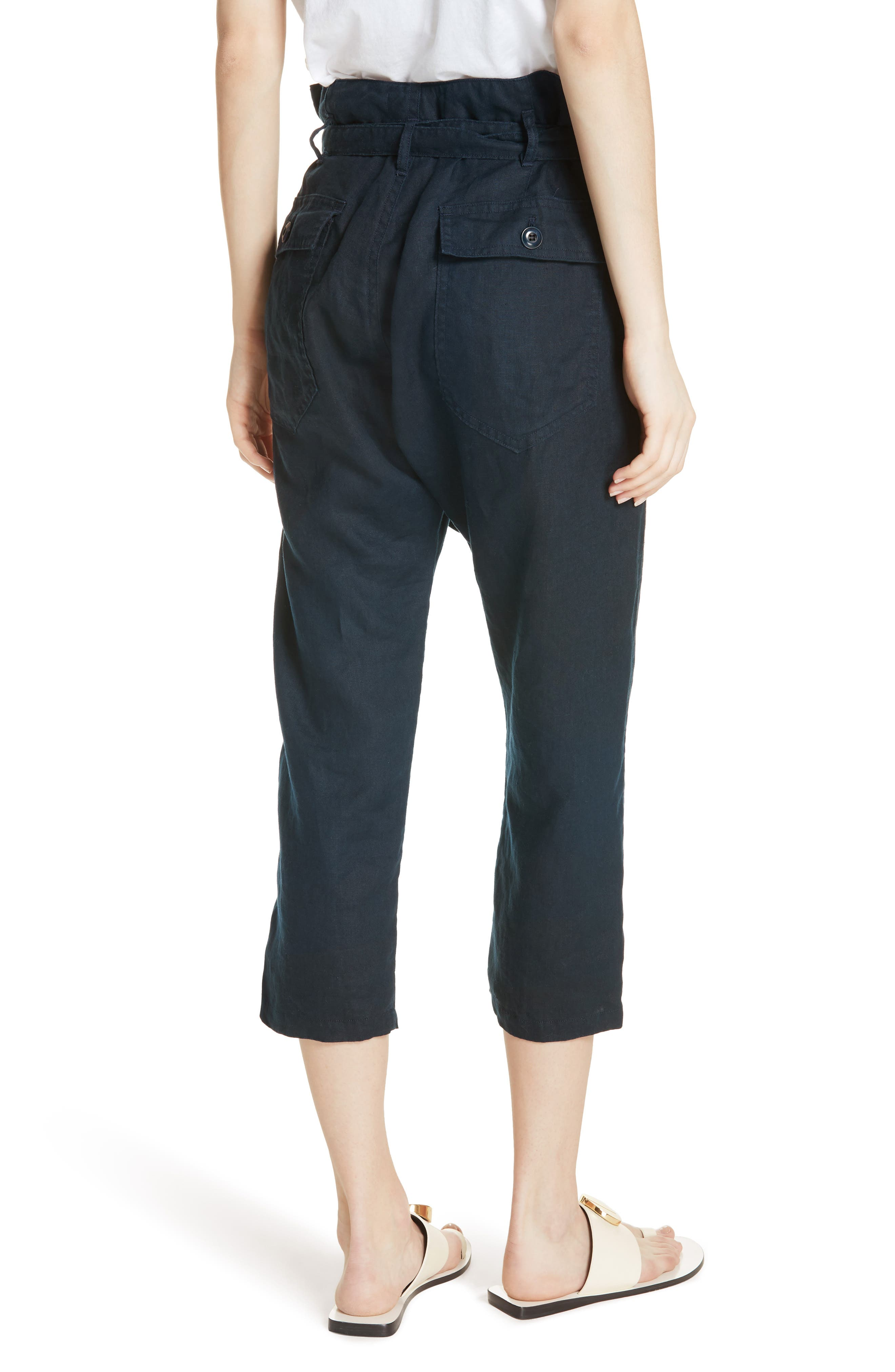 The Convertible Trousers,                             Alternate thumbnail 2, color,                             Navy