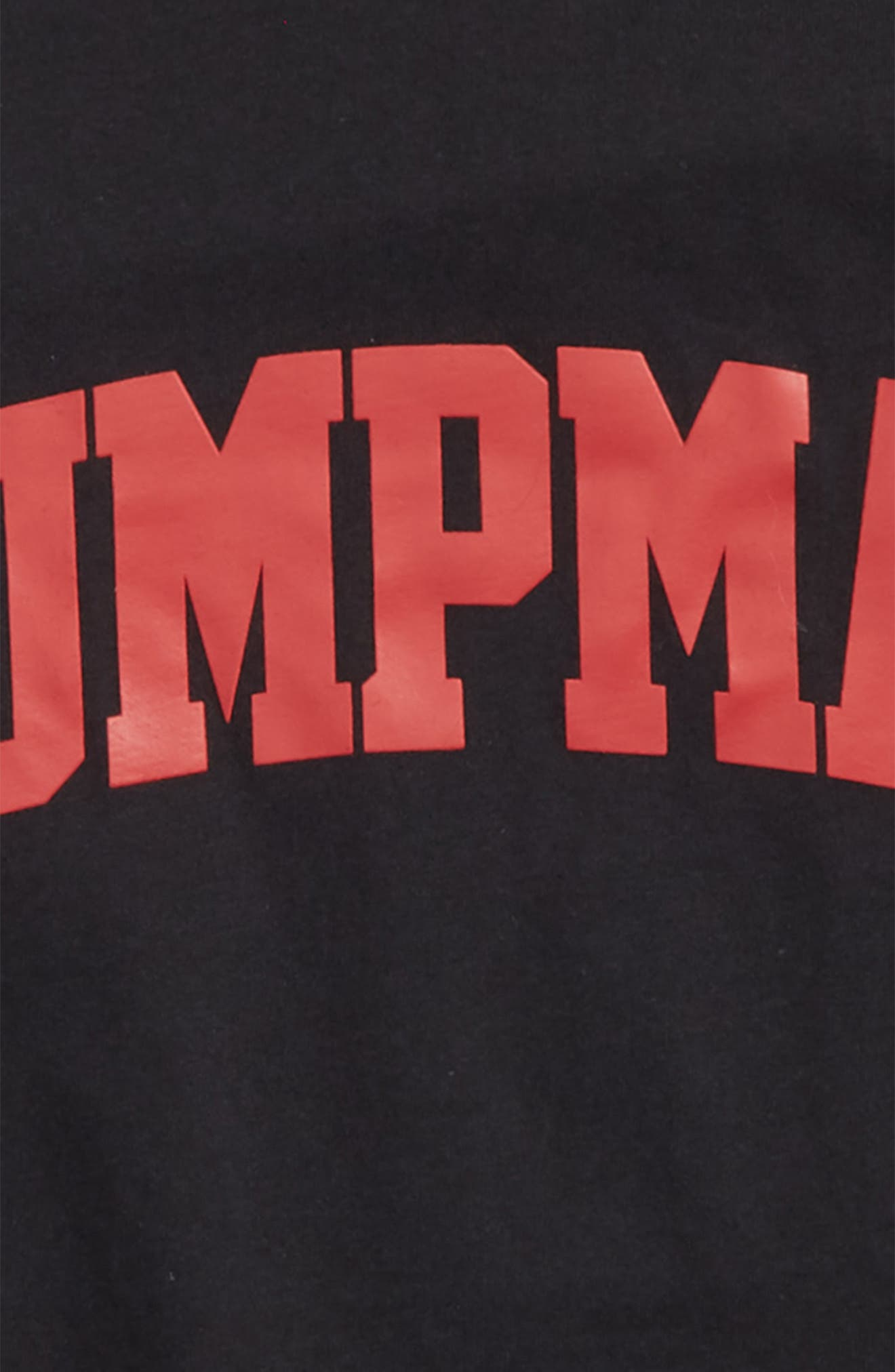 Jordan Brand Graphic T-Shirt,                             Alternate thumbnail 2, color,                             Black
