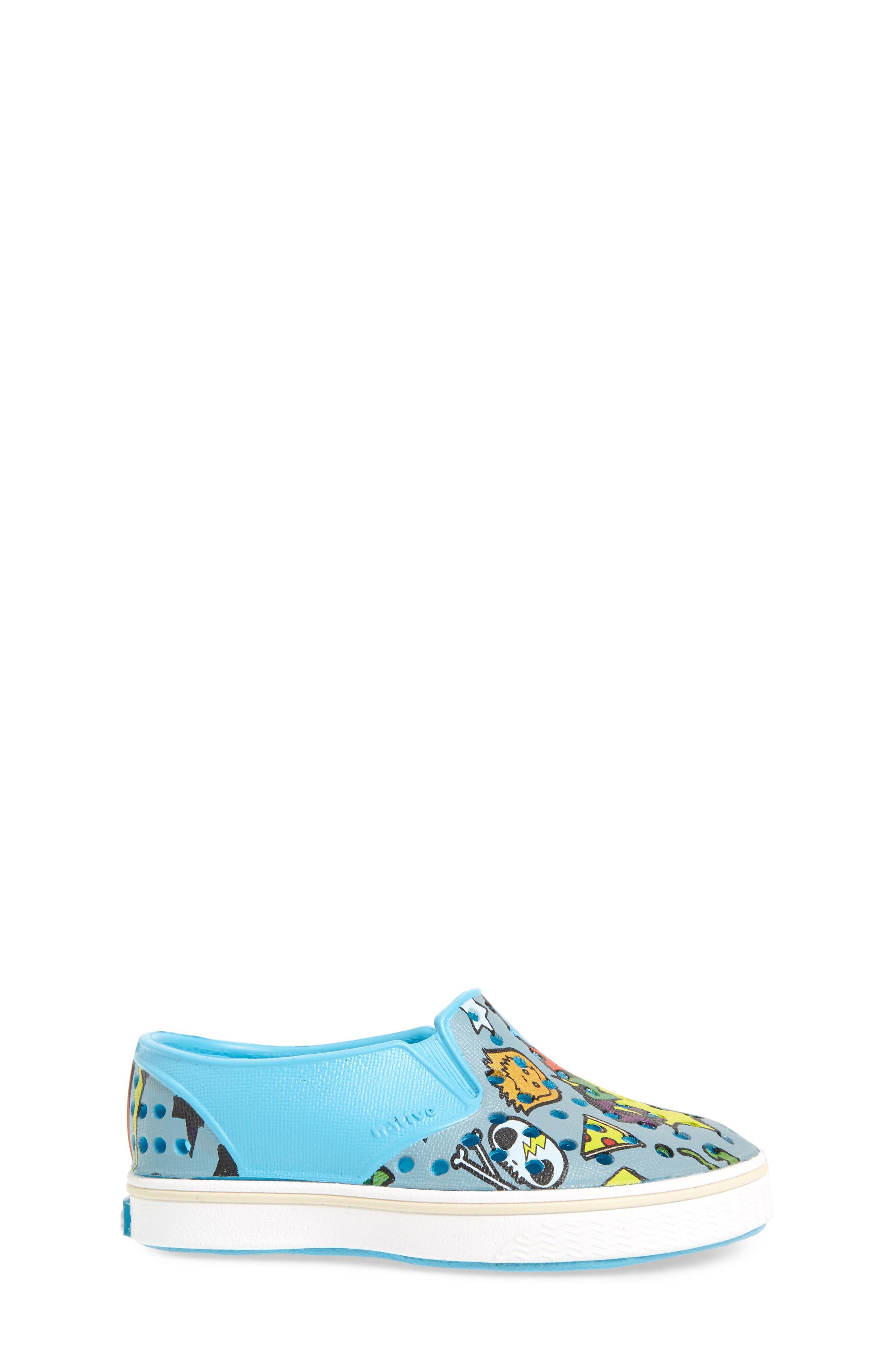 Alternate Image 3  - Native Shoes Miles Print Slip-On Sneaker (Baby, Walker, Toddler, Little Kid & Big Kid)