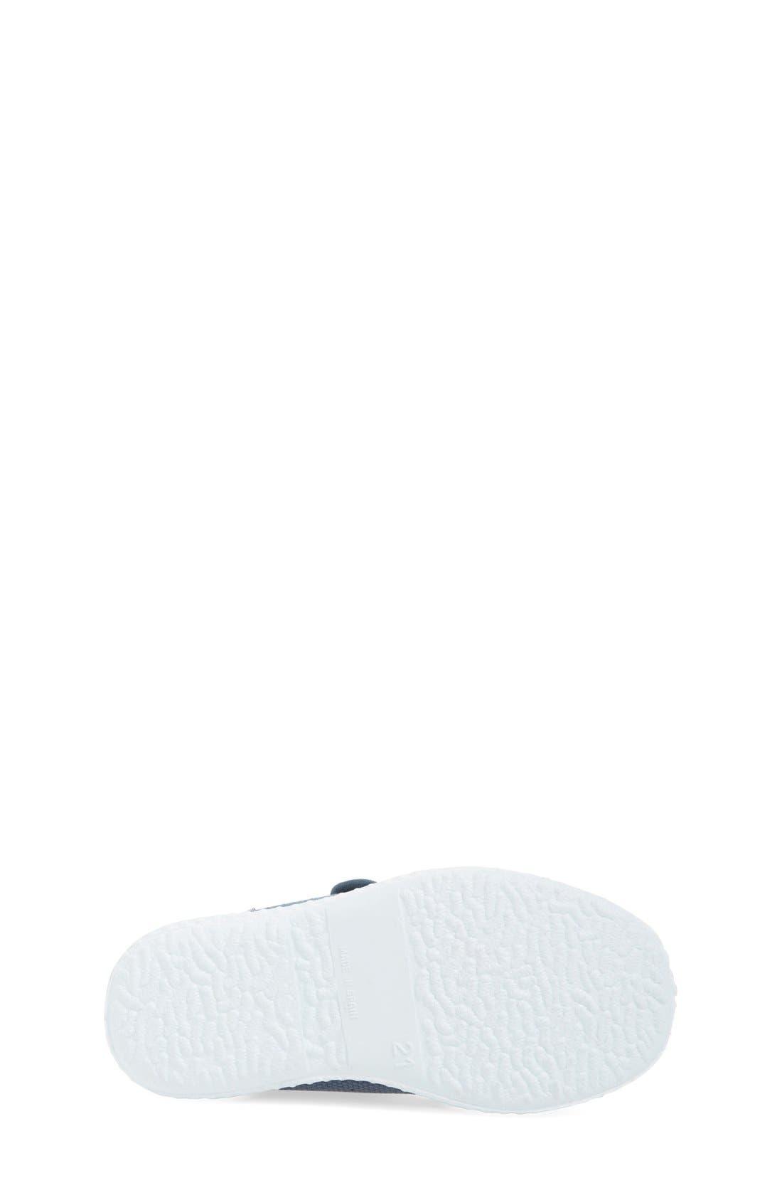 Canvas Sneaker,                             Alternate thumbnail 4, color,                             Grey