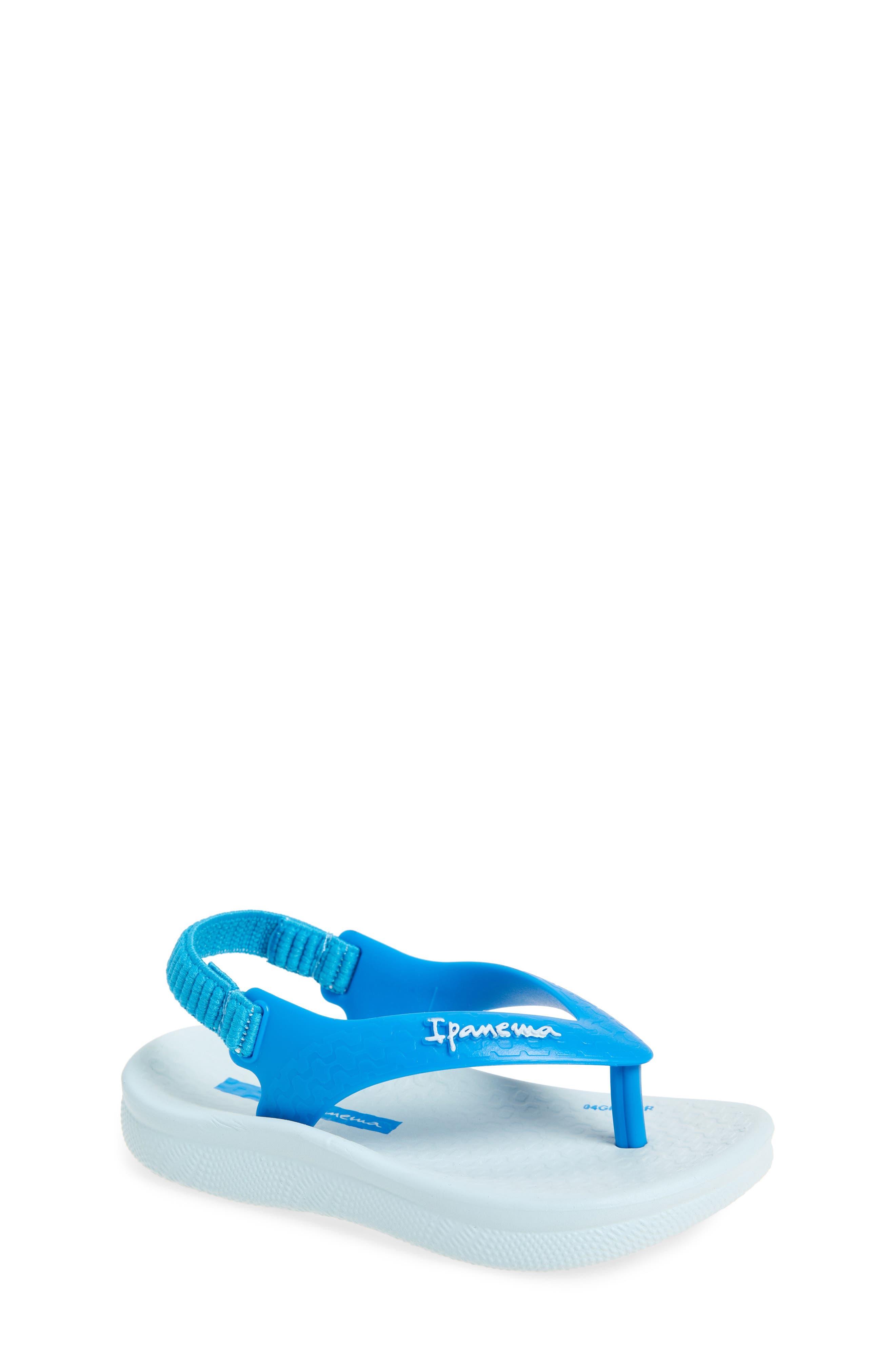 Ana Tan Flip Flop,                             Main thumbnail 1, color,                             Blue/ Blue