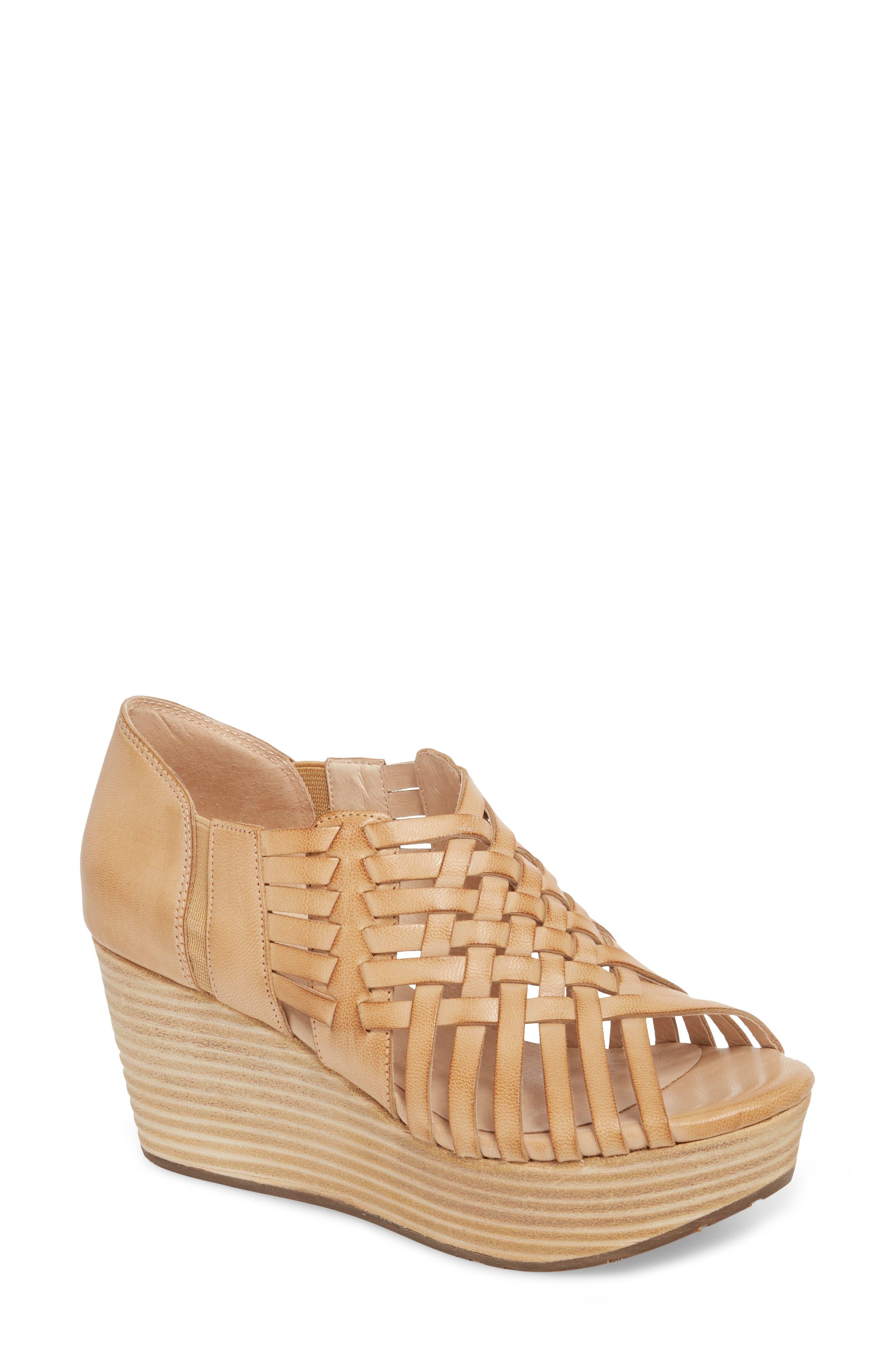 Chocolat Blu Woody Wedge Sandal (Women)