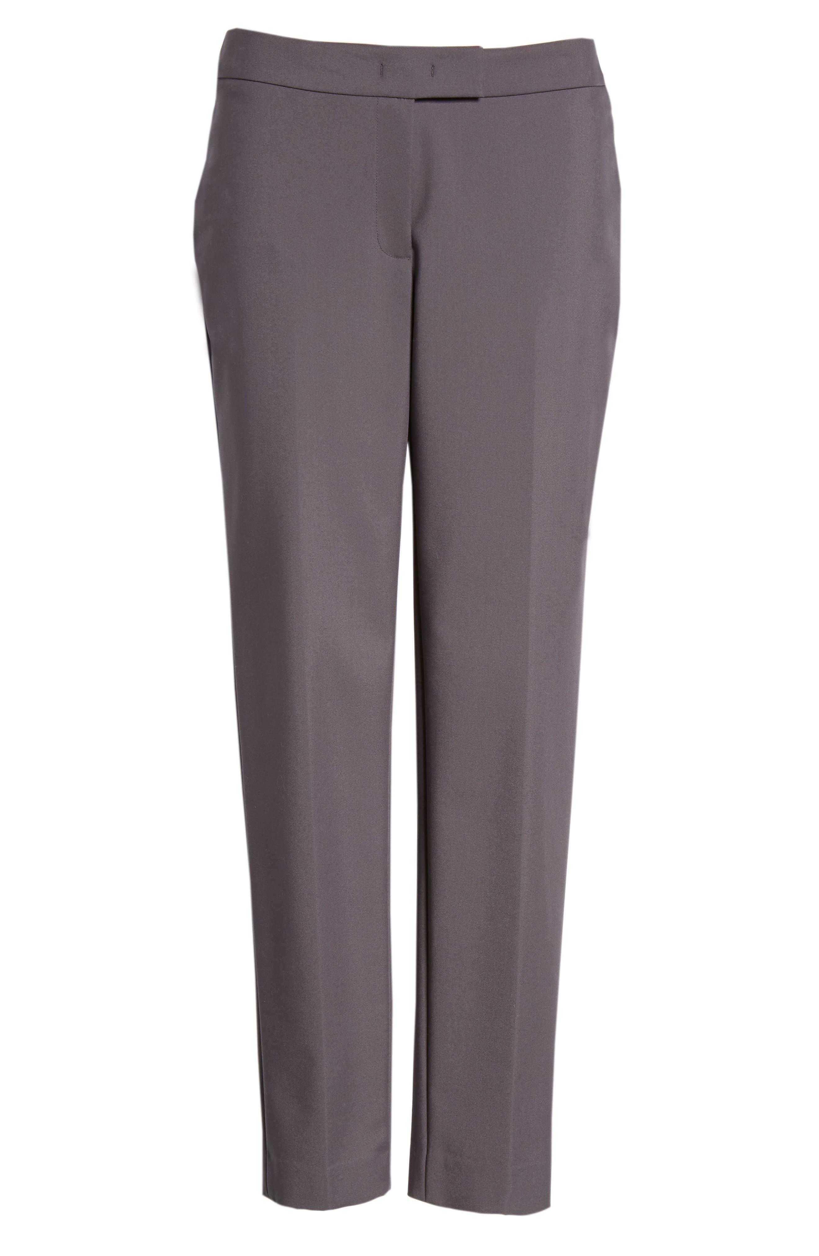 Slim Ankle Pants,                             Alternate thumbnail 7, color,                             Nantucket Grey