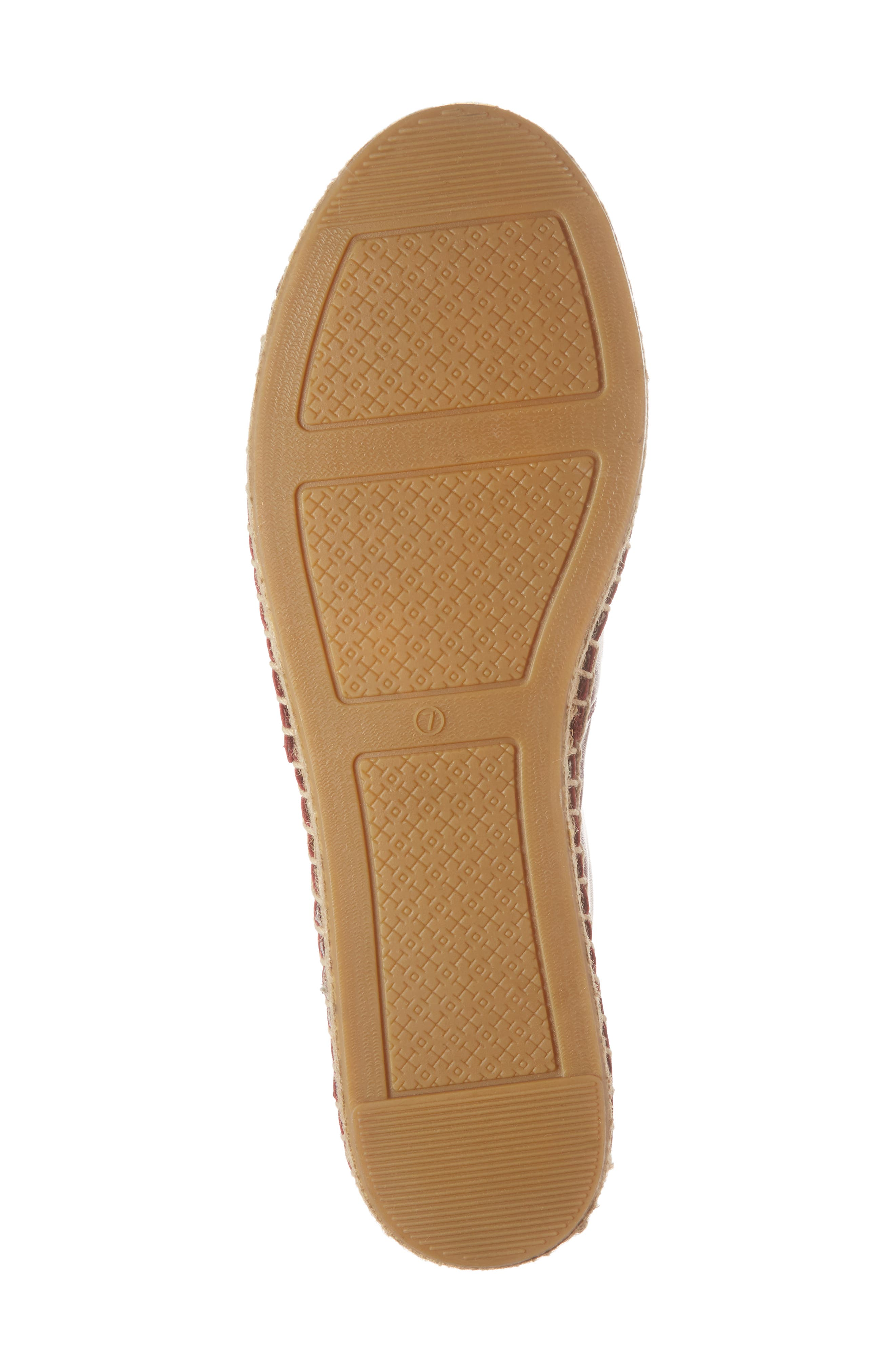 Colorblock Espadrille Flat,                             Alternate thumbnail 6, color,                             Tuscan Wine/ Tory Navy
