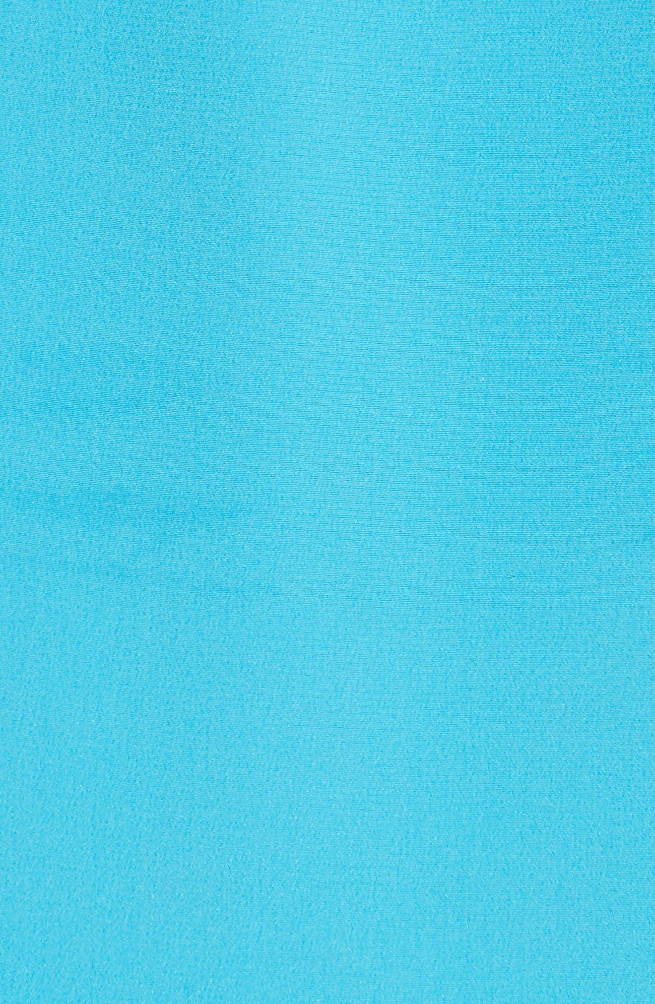 Cinched Sleeve Silk Blouse,                             Alternate thumbnail 5, color,                             Horizon
