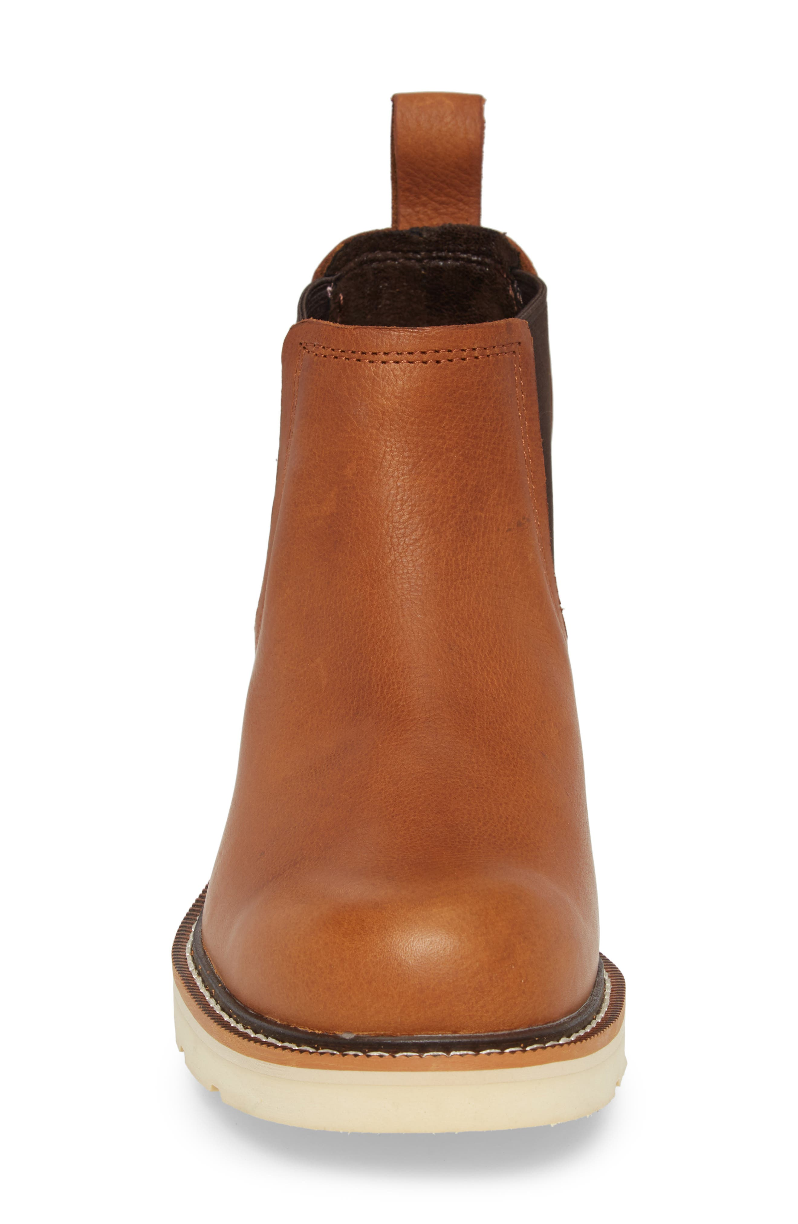 Rambler Recon Mid Chelsea Boot,                             Alternate thumbnail 4, color,                             Golden Grizzly