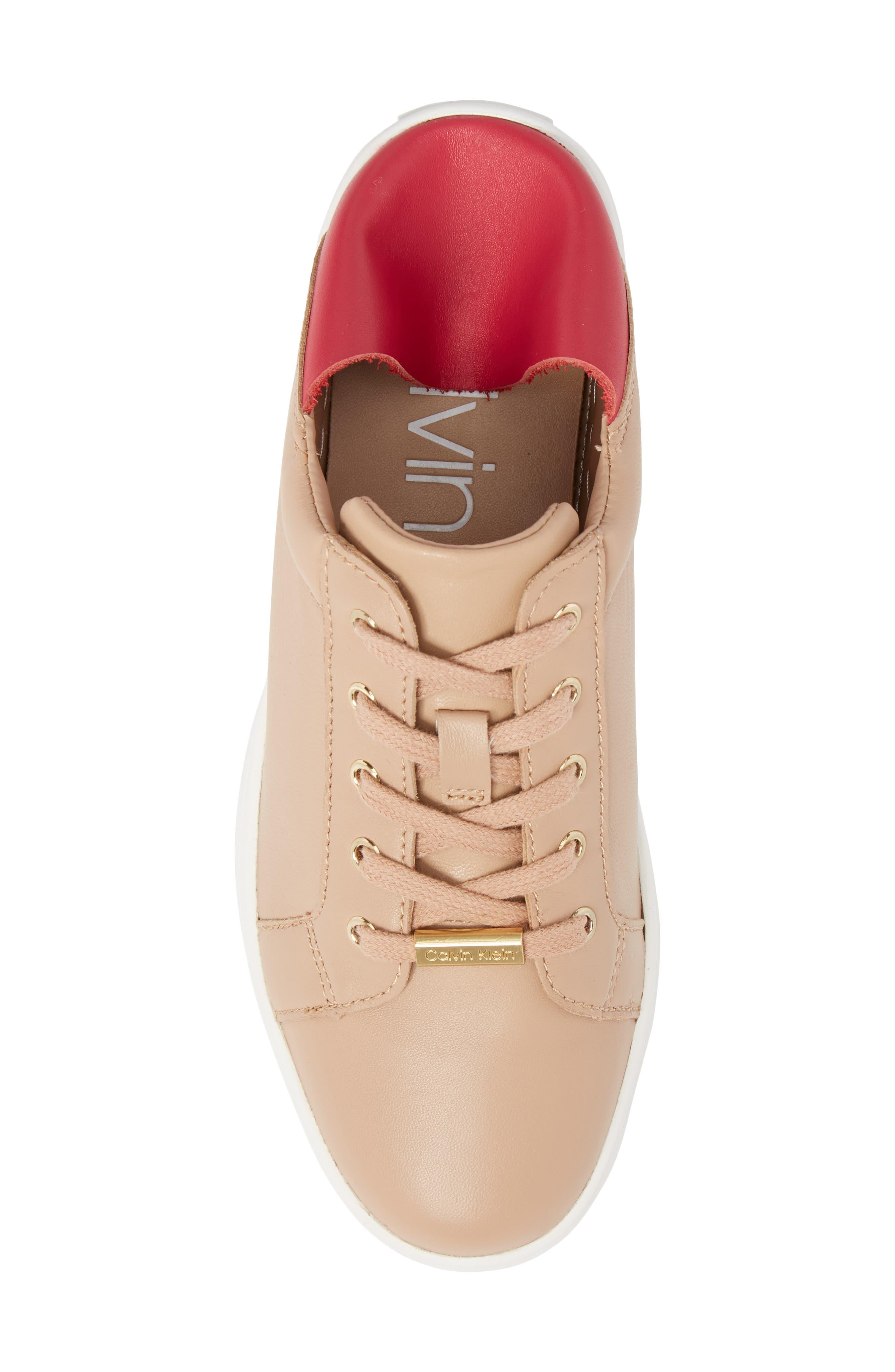 Danica Convertible Sneaker,                             Alternate thumbnail 6, color,                             Desert Sand Leather