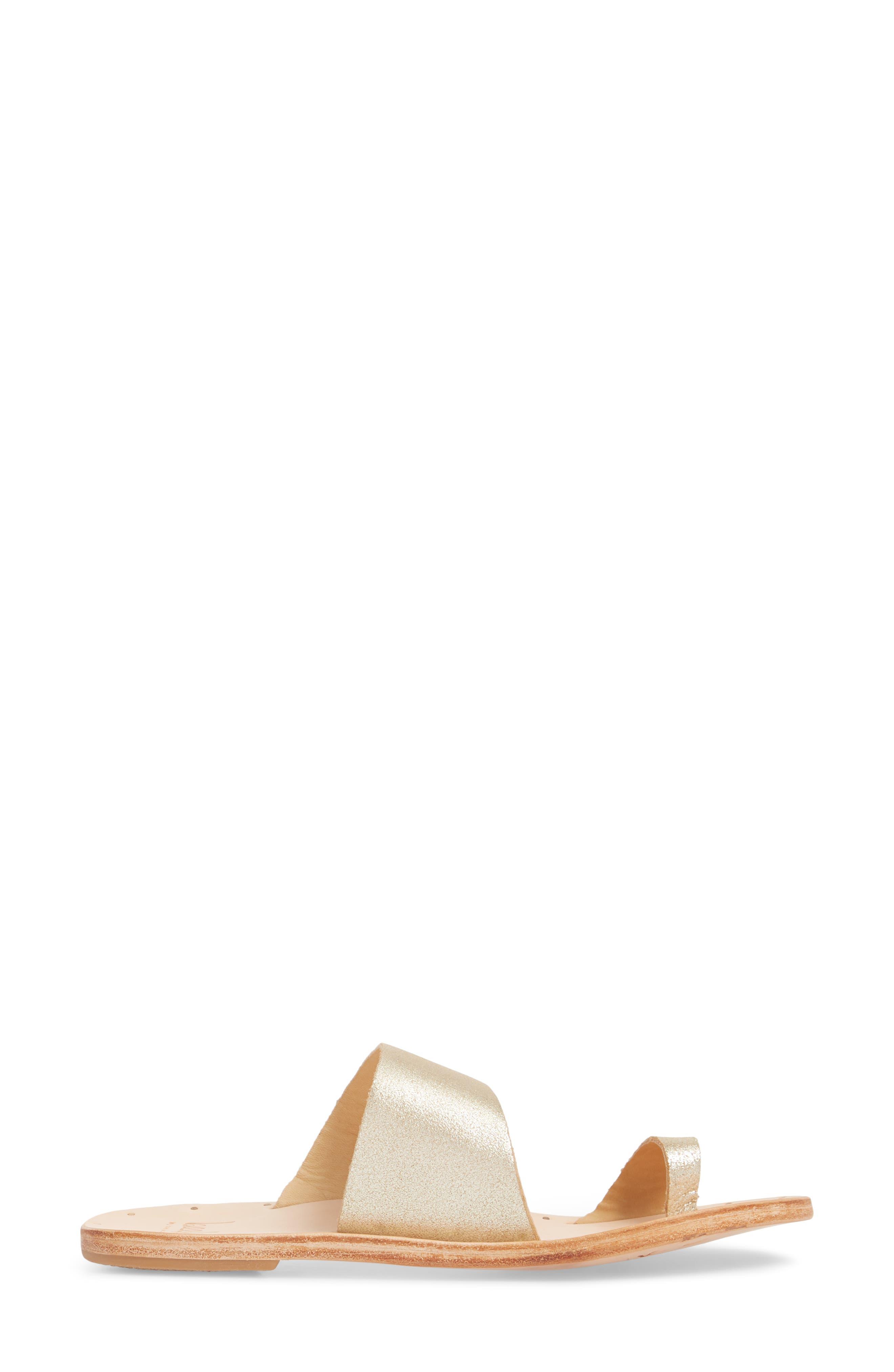 Finch Sandal,                             Alternate thumbnail 3, color,                             Platinum