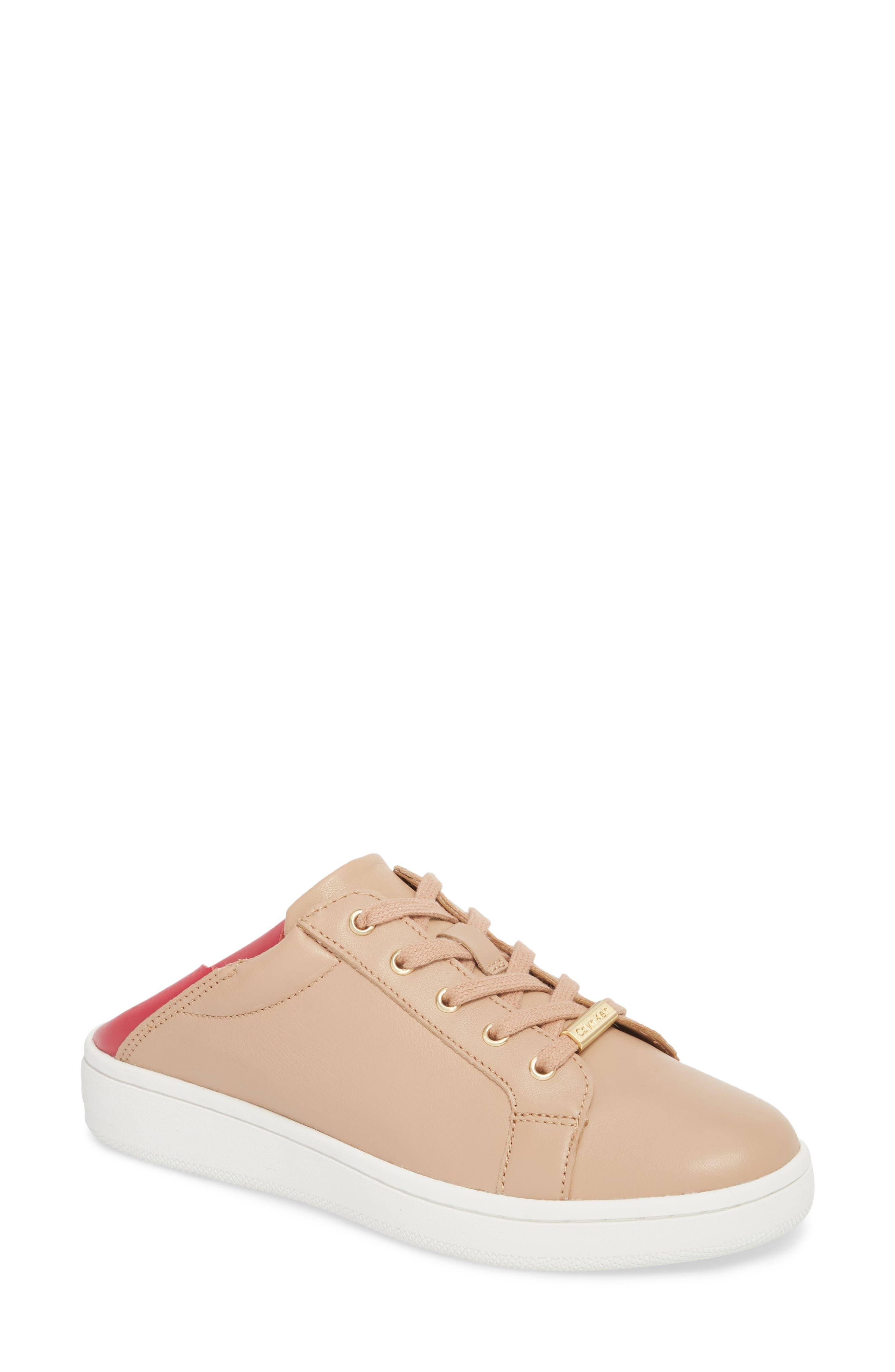 Danica Convertible Sneaker,                             Main thumbnail 1, color,                             Desert Sand Leather