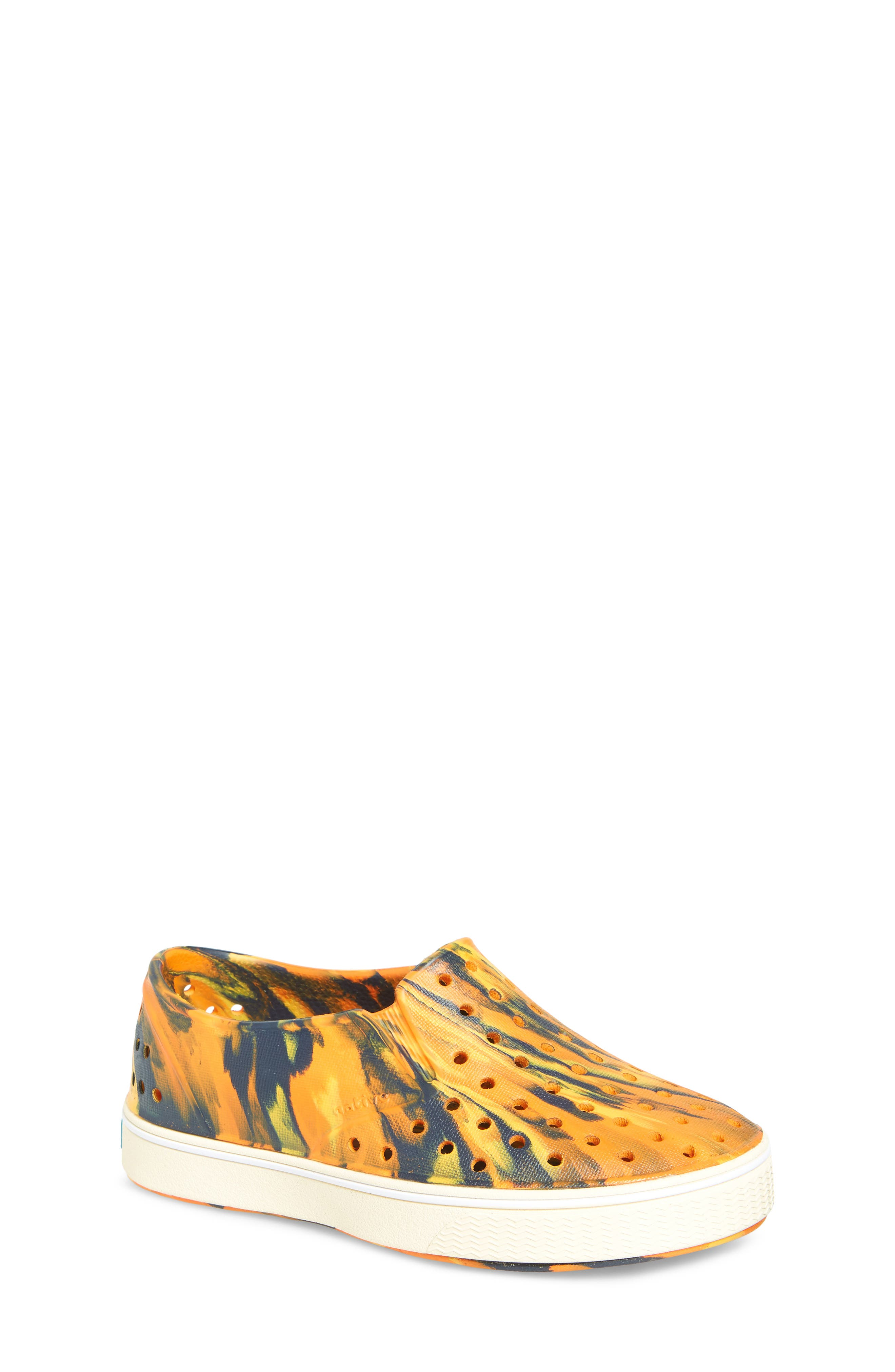 Alternate Image 1 Selected - Native Shoes Miles Marbled Slip-On Sneaker (Baby, Walker, Toddler & Little Kid)