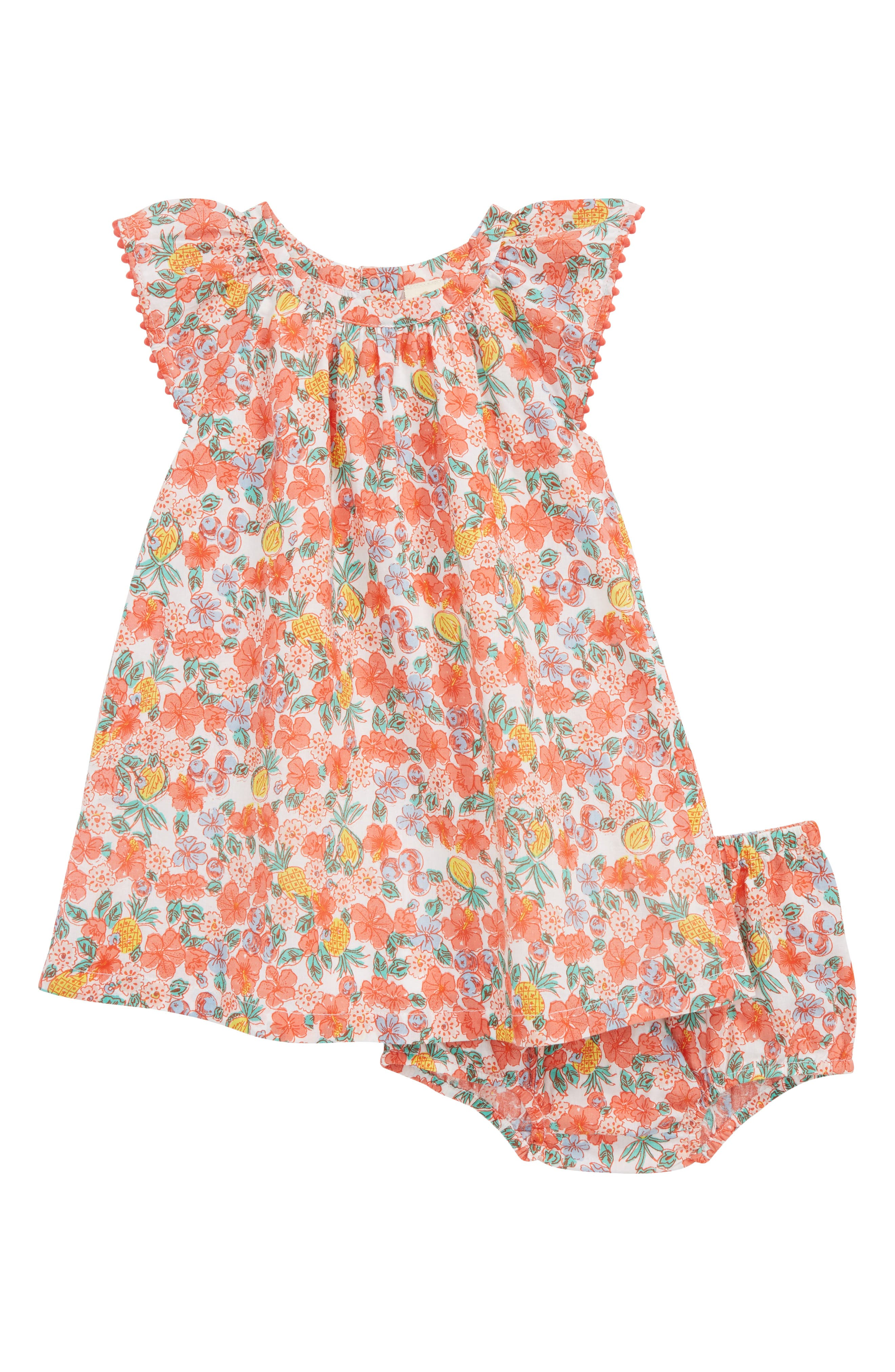 Tucker + Tate Flutter Sleeve Dress (Baby Girls)
