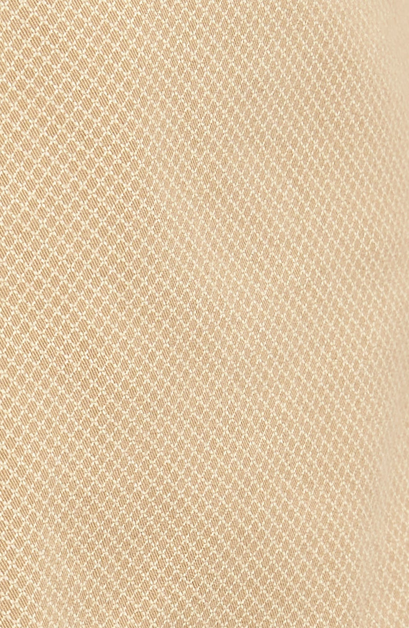 Monaco Diamond Dash Modern Fit Chino Shorts,                             Alternate thumbnail 5, color,                             Khaki