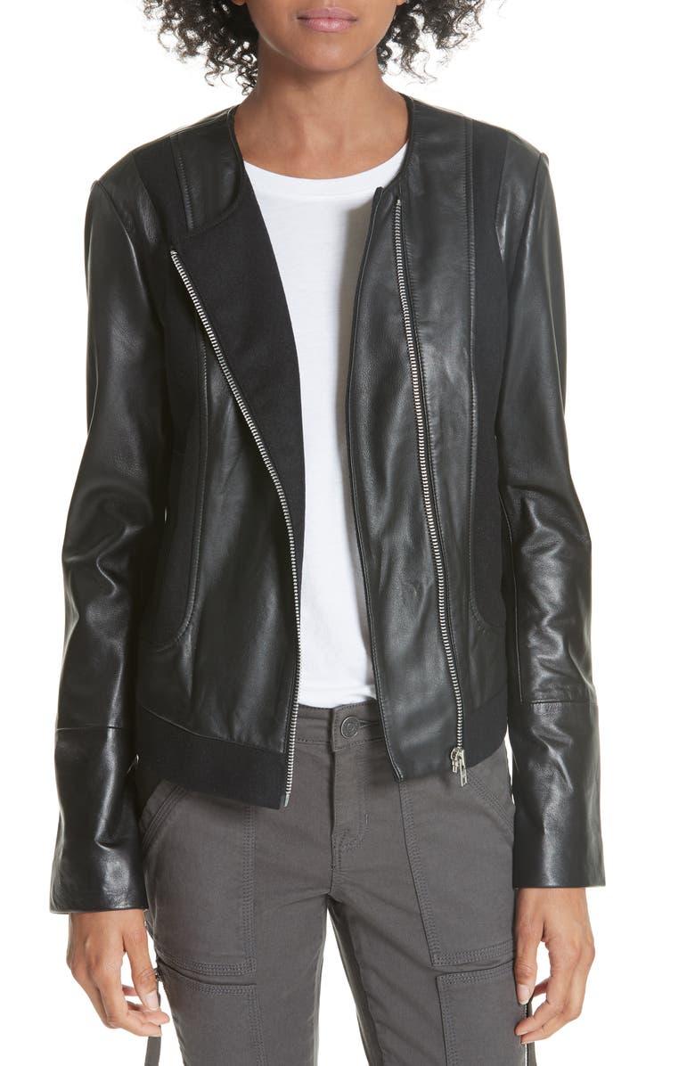 Morina Lambskin Leather Jacket