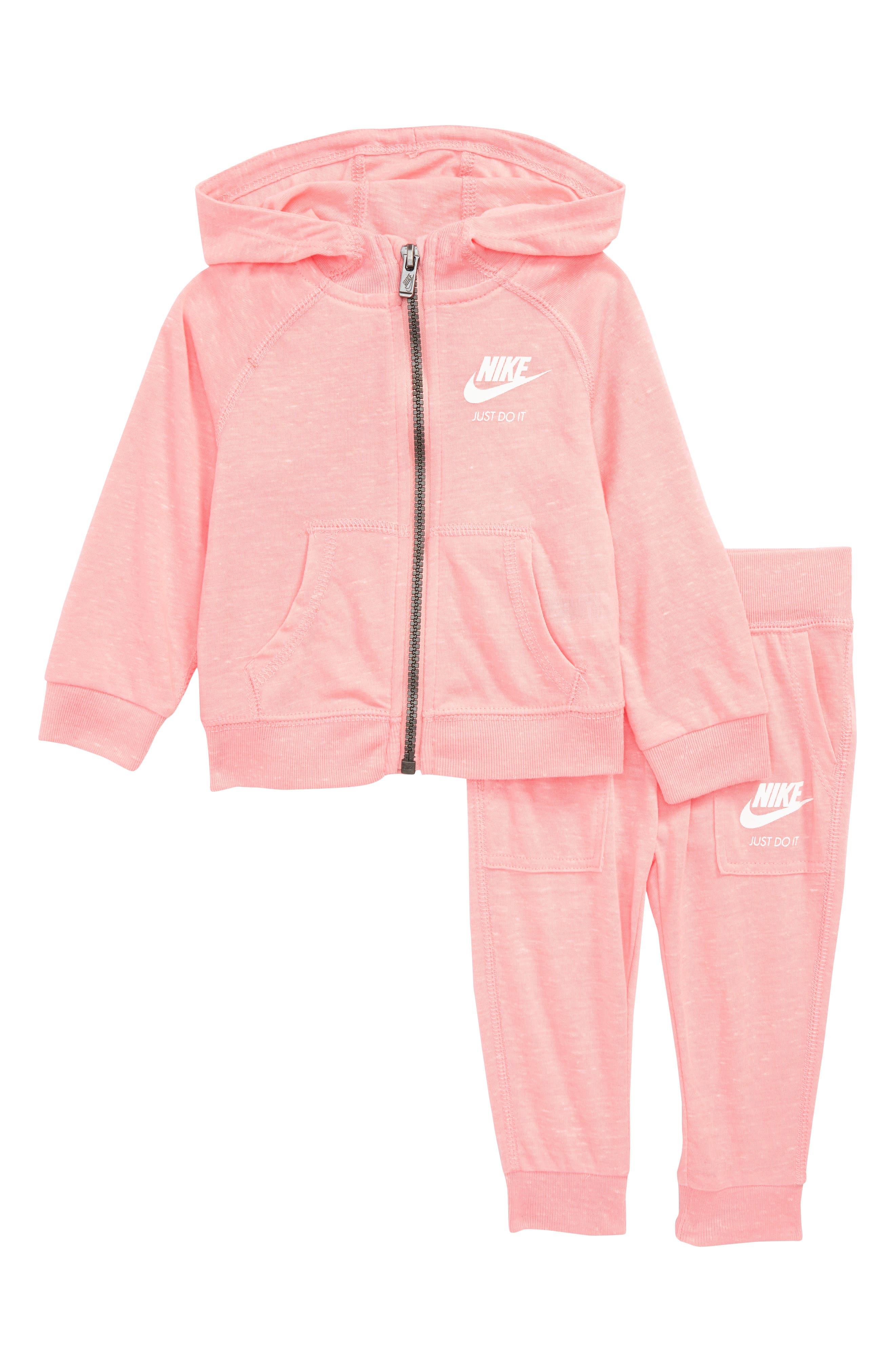 Nike Zip-Up Hoodie & Pants Set (Baby)