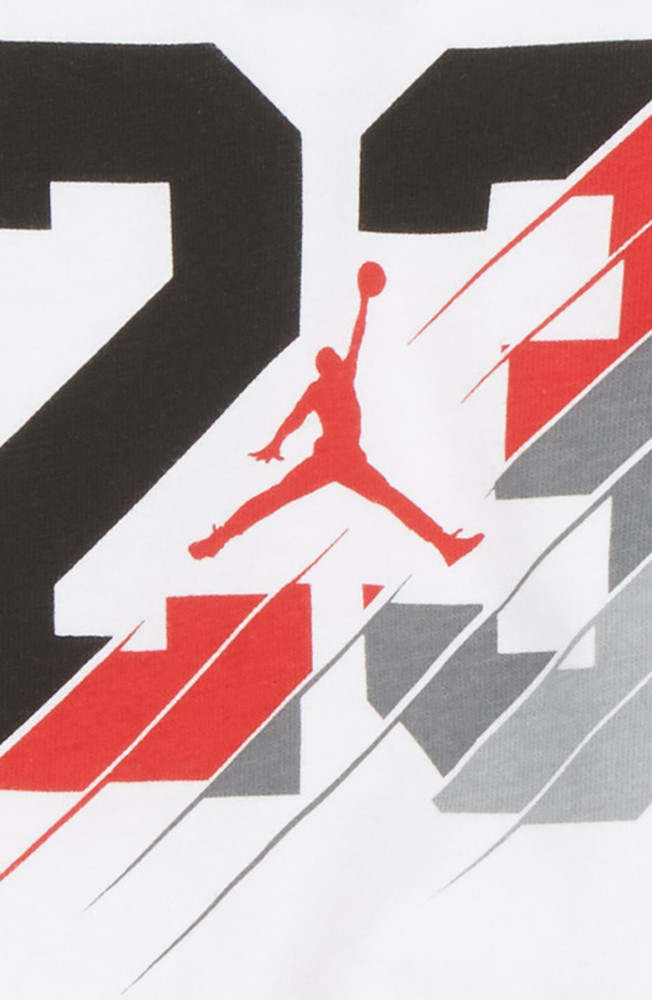 23 Slash Creeper Bodysuit & Mesh Shorts Set,                             Alternate thumbnail 2, color,                             Black