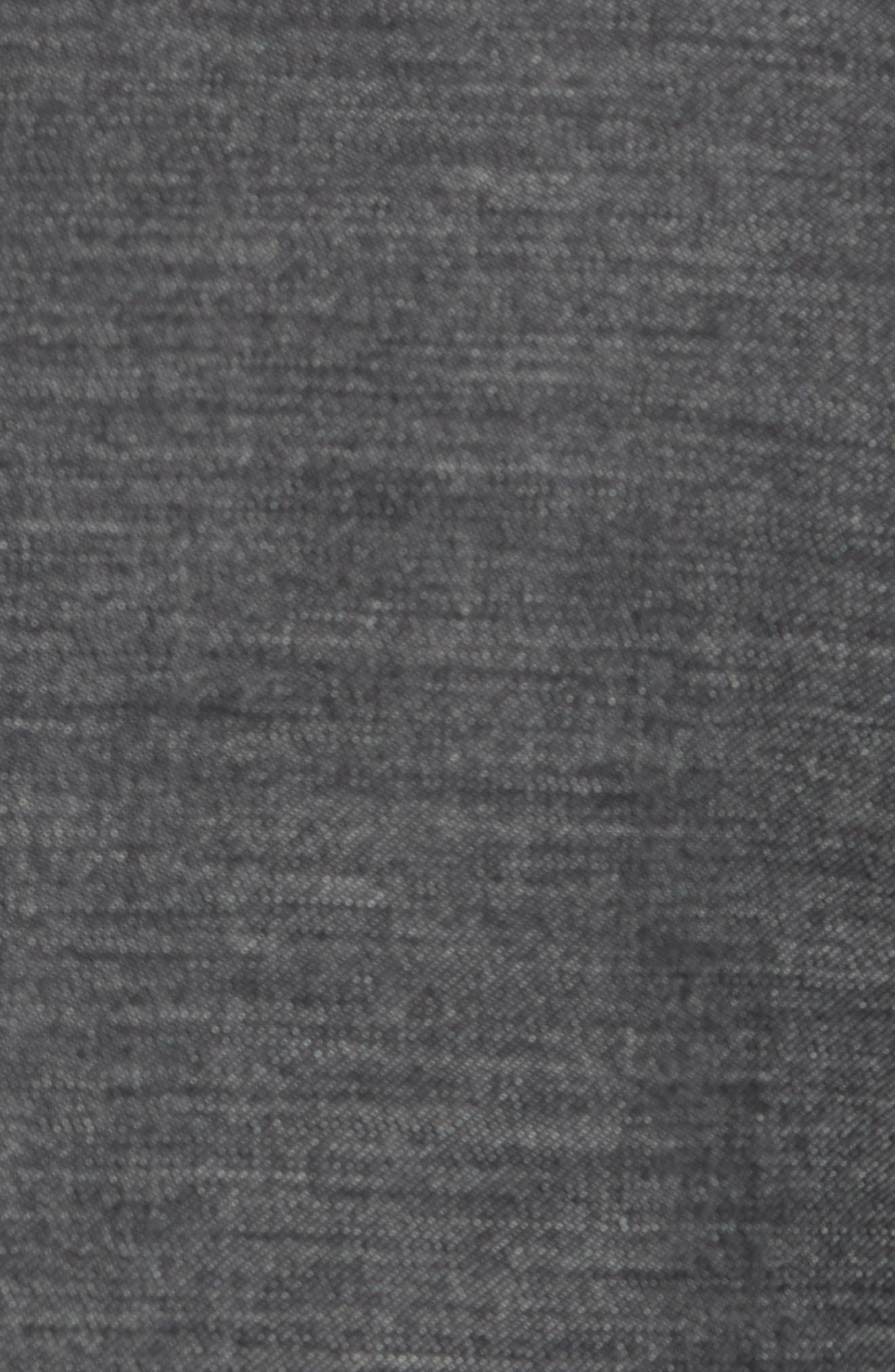 Jay Trim Fit Heathered Wool & Cotton Sport Coat,                             Alternate thumbnail 5, color,                             Grey