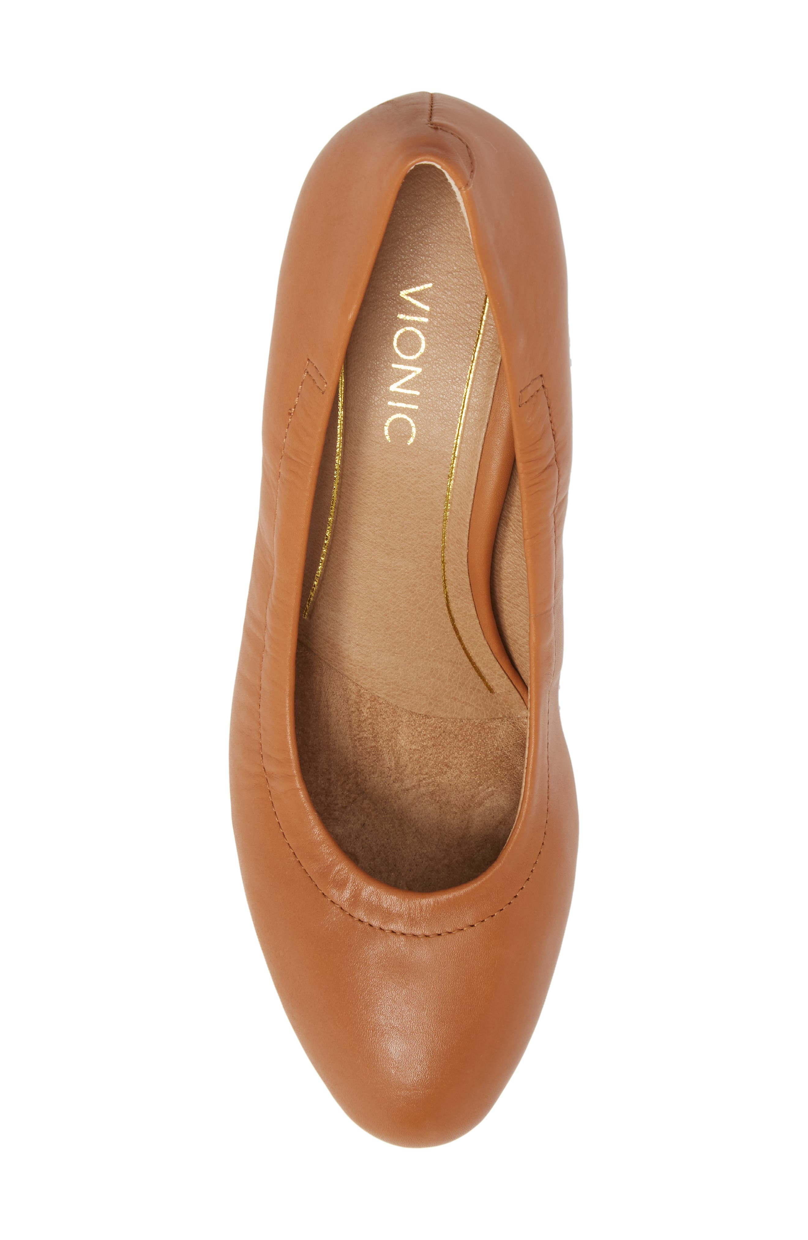 Camden Wedge,                             Alternate thumbnail 5, color,                             Tan Leather