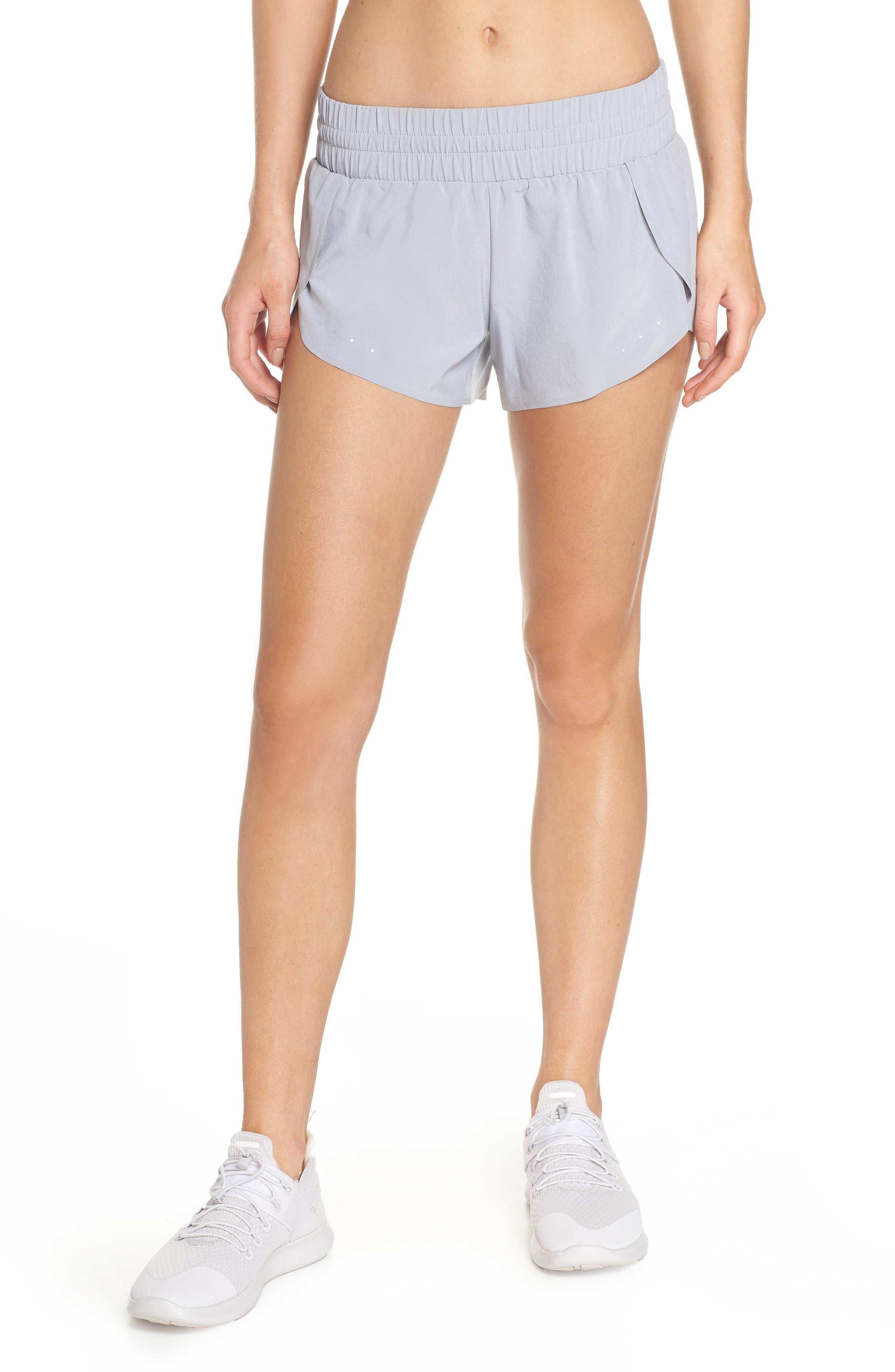 Run Play Shorts,                             Main thumbnail 1, color,                             Grey Wolf