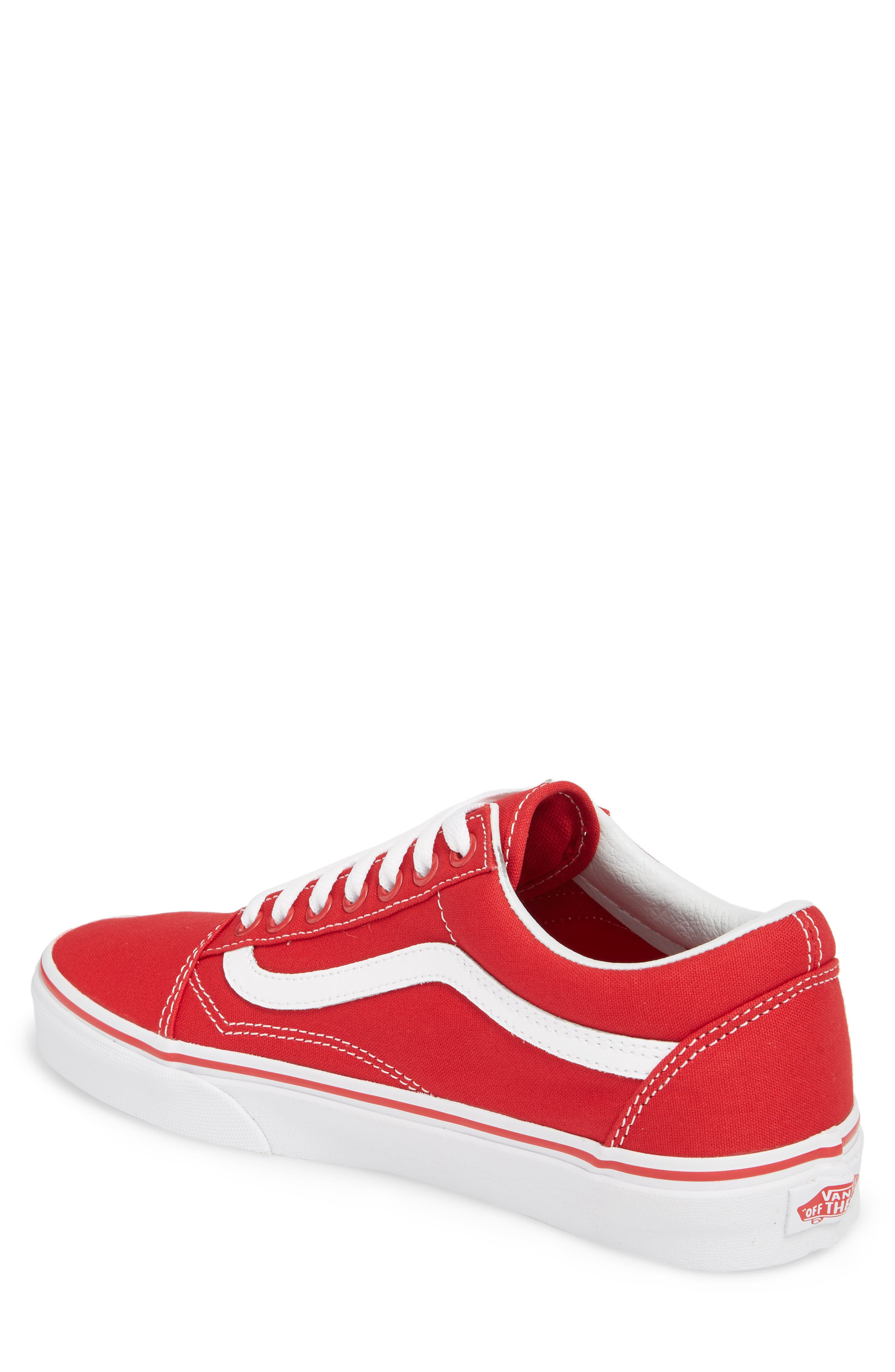 Old Skool Low Top Sneaker,                             Alternate thumbnail 2, color,                             Formula One Canvas