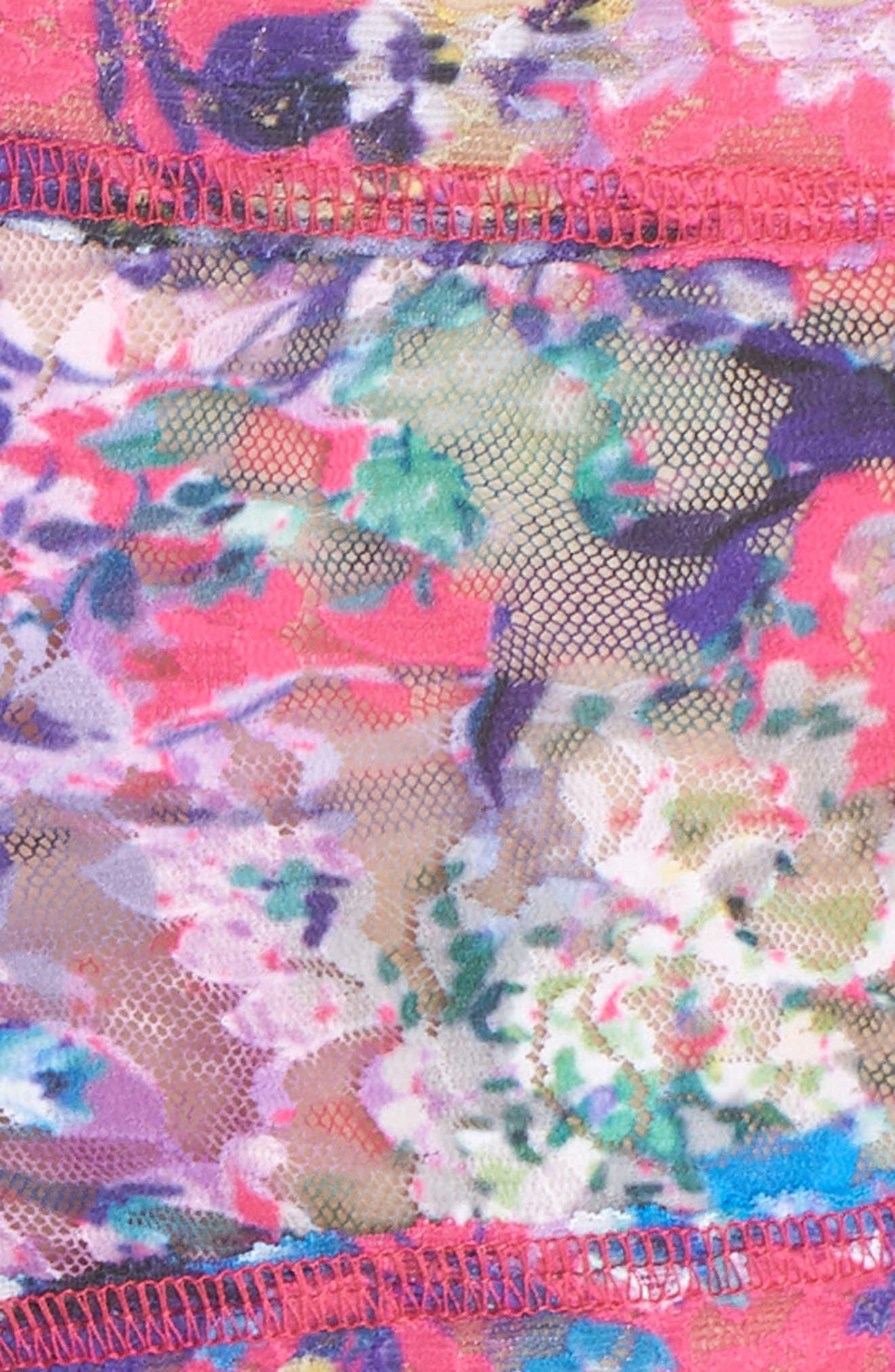 Print Boyshorts,                             Alternate thumbnail 5, color,                             Pretty In Peony