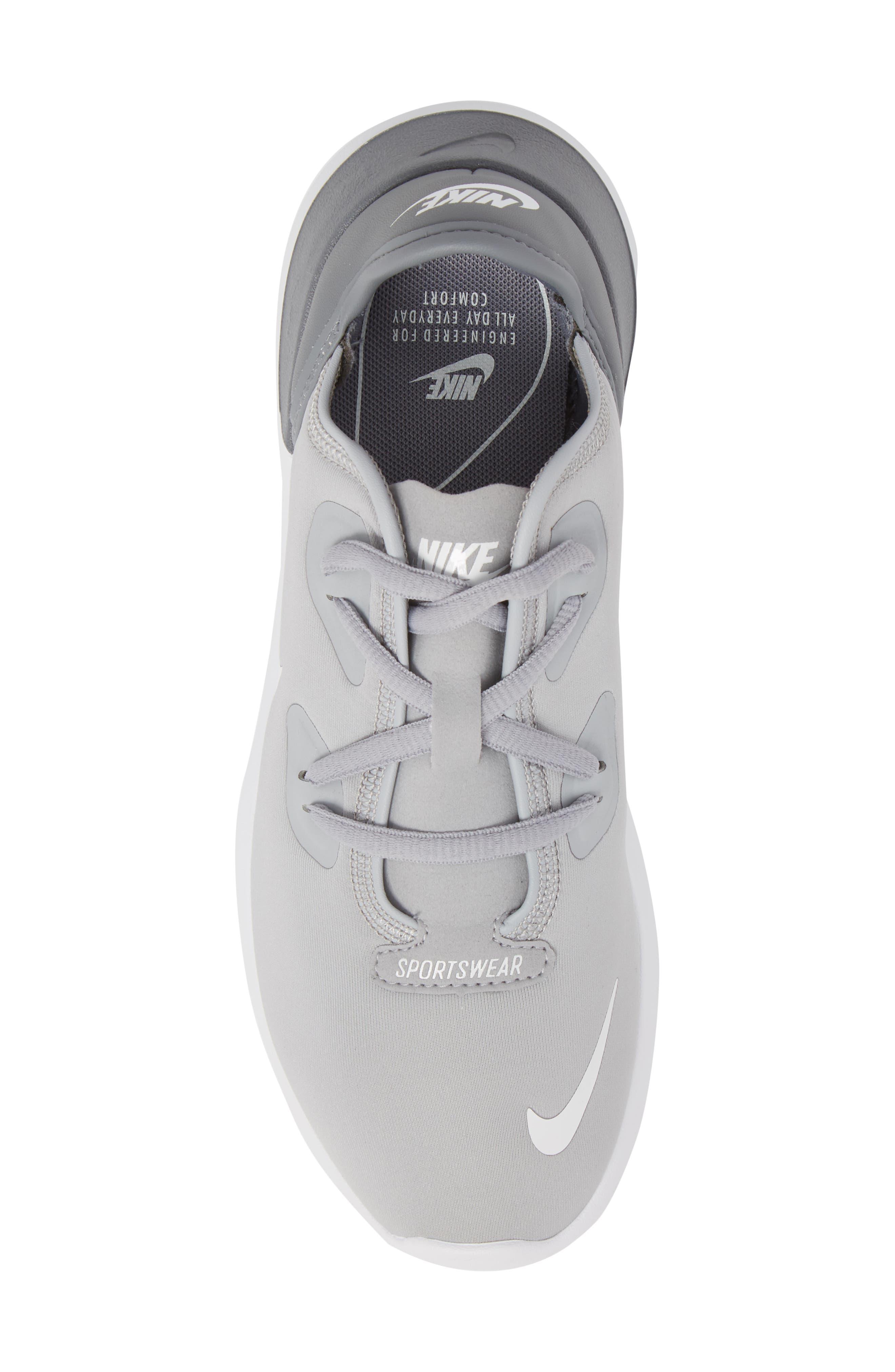 Hakata Sneaker,                             Alternate thumbnail 5, color,                             Wolf Grey/ White