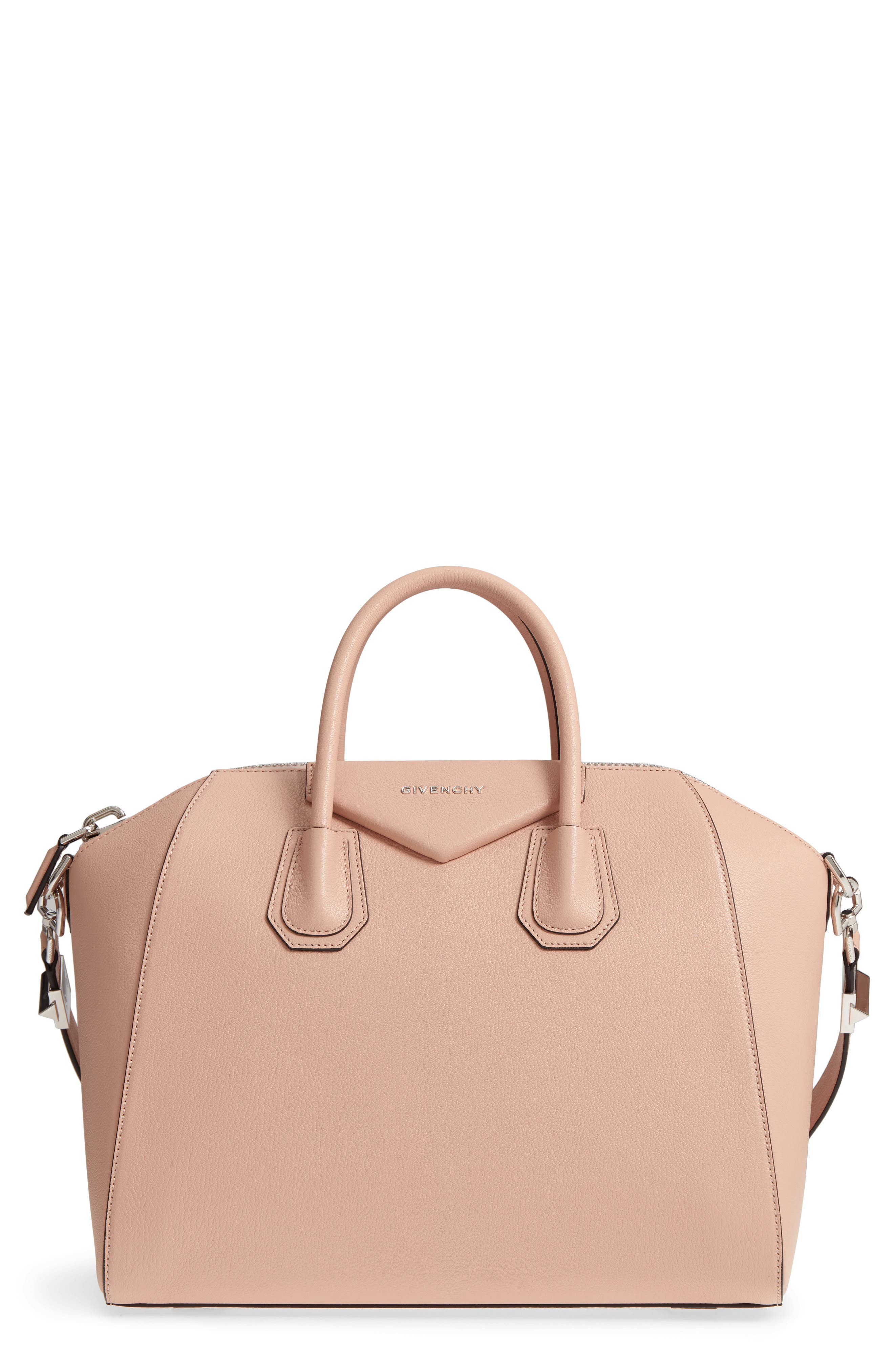 Alternate Image 1 Selected - Givenchy 'Medium Antigona' Sugar Leather Satchel