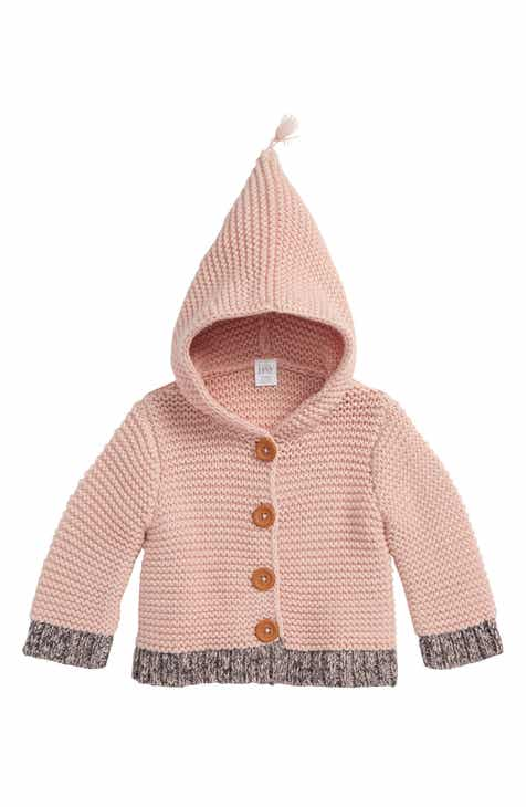 Nordstrom baby clothing shoes accessories nordstrom nordstrom baby organic cotton hooded cardigan baby girls negle Choice Image