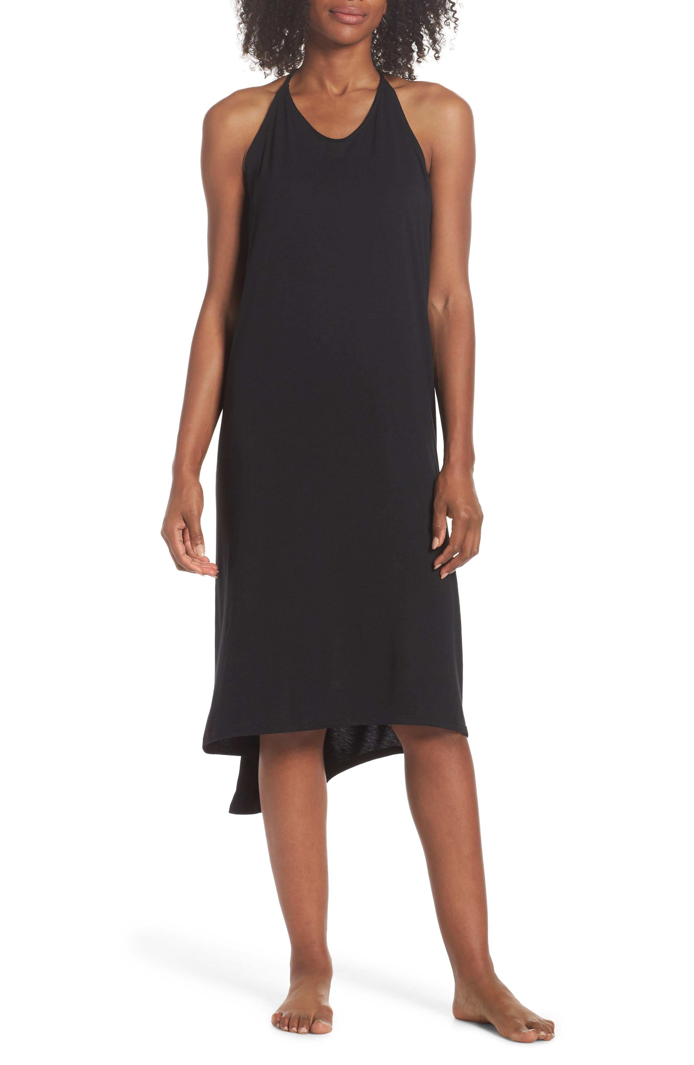 Yoga Dress,                             Main thumbnail 1, color,                             Black