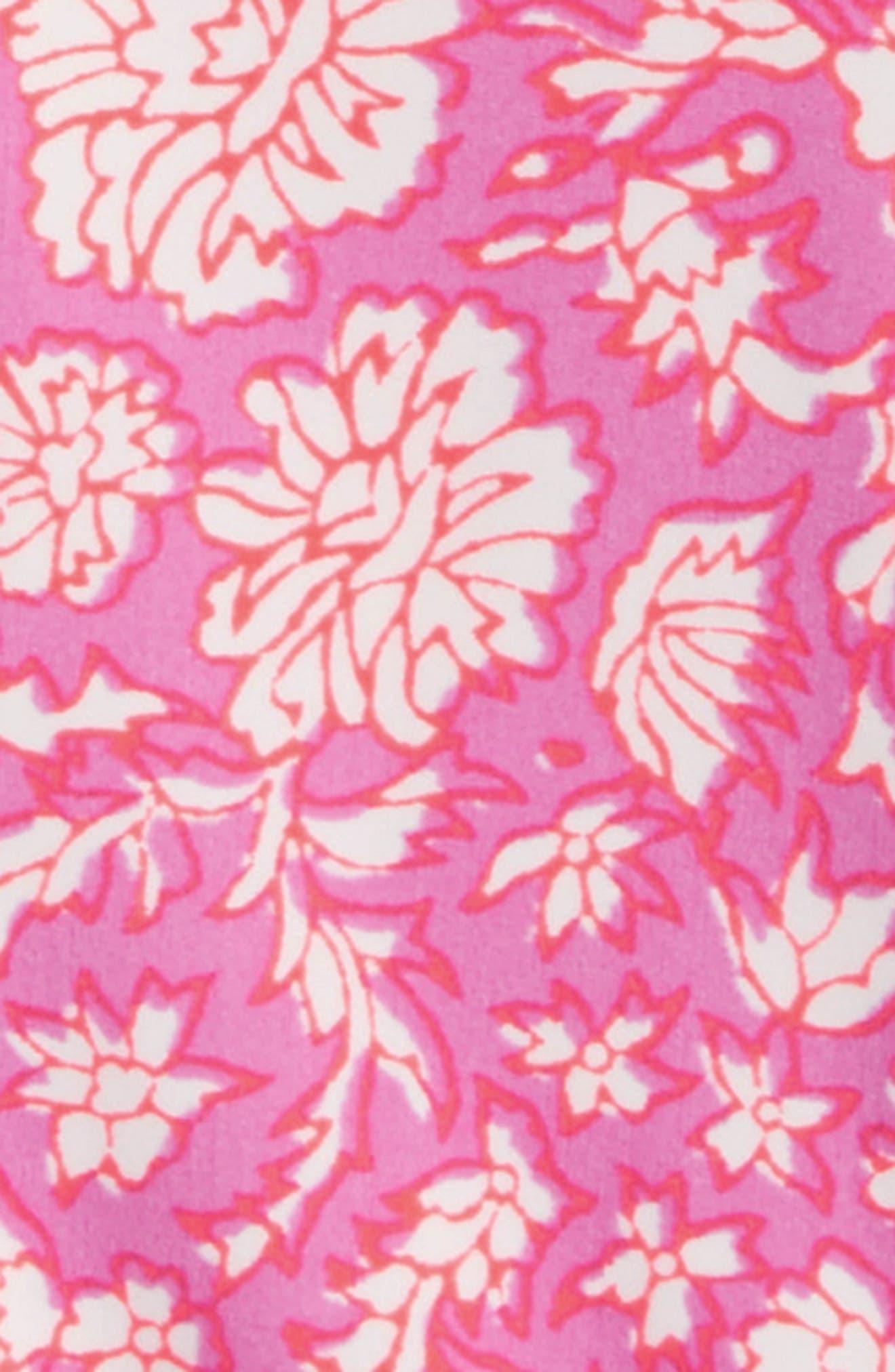 SZ Blockprints<sup>™</sup> Floral One-Piece Rashguard,                             Alternate thumbnail 2, color,                             Ivory Lavender Multi