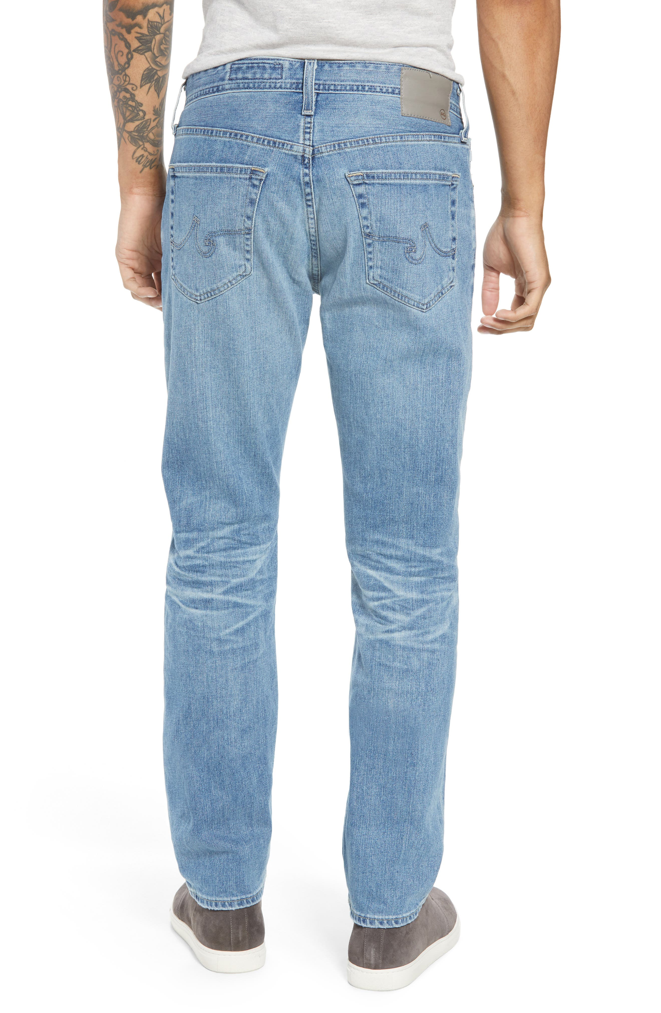 Everett Slim Straight Fit Jeans,                             Alternate thumbnail 2, color,                             18 Years Oceano