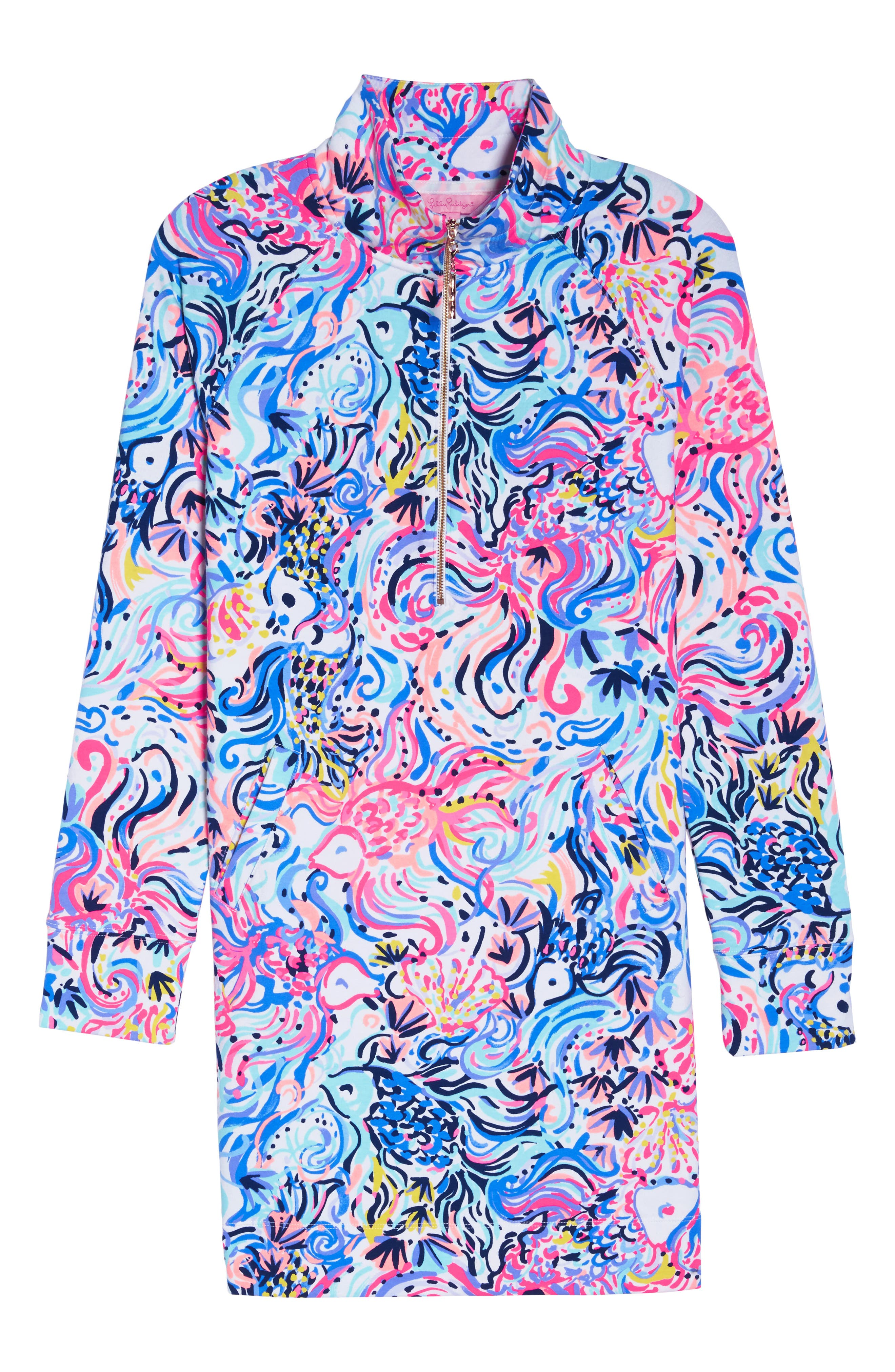 Skipper UPF 50+ Dress,                             Alternate thumbnail 6, color,                             Multi So Sophishticated
