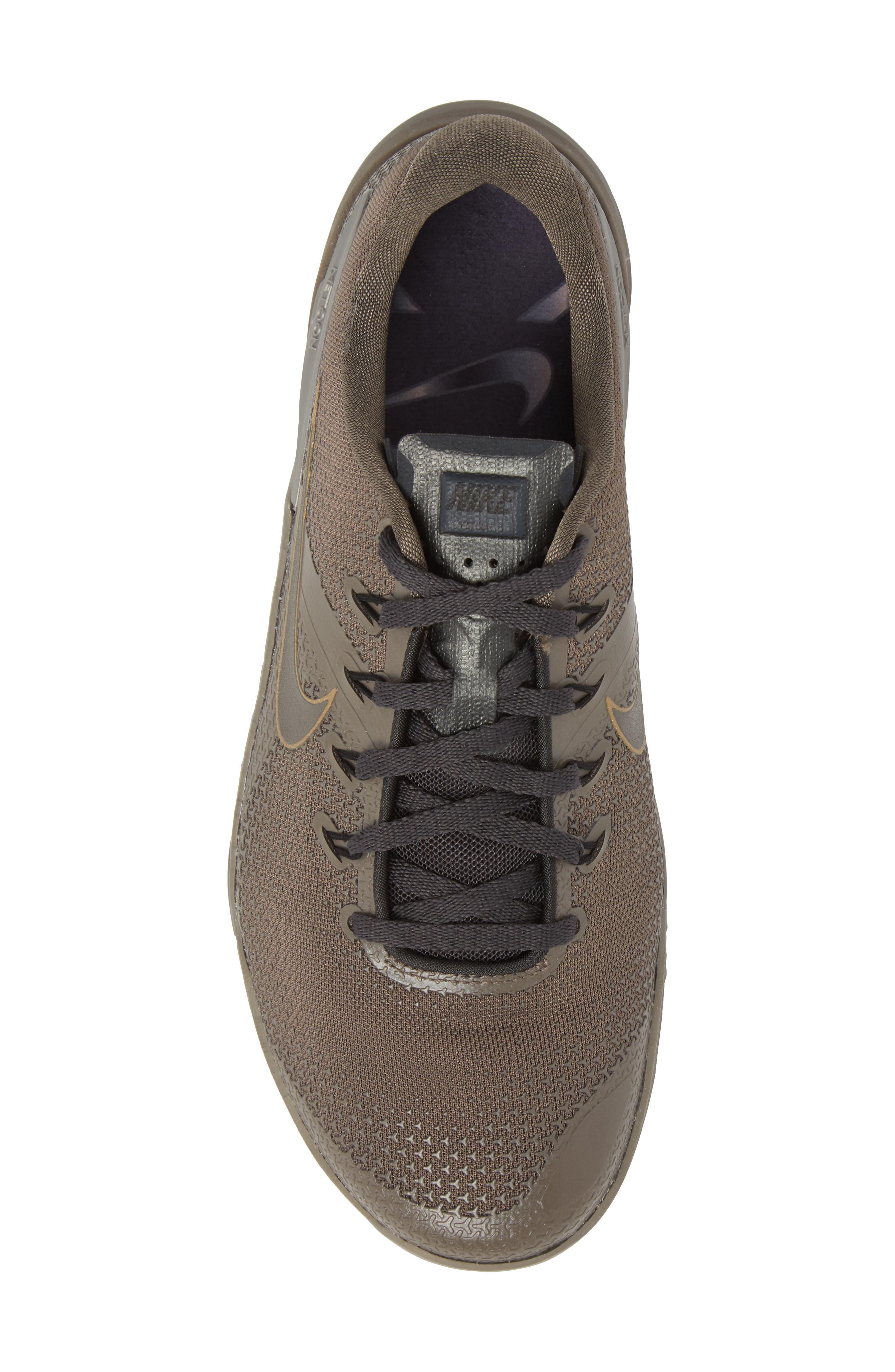 Metcon 4 Viking Quest Training Shoe,                             Alternate thumbnail 5, color,                             Ridgerock/ Pewter/ Anthracite