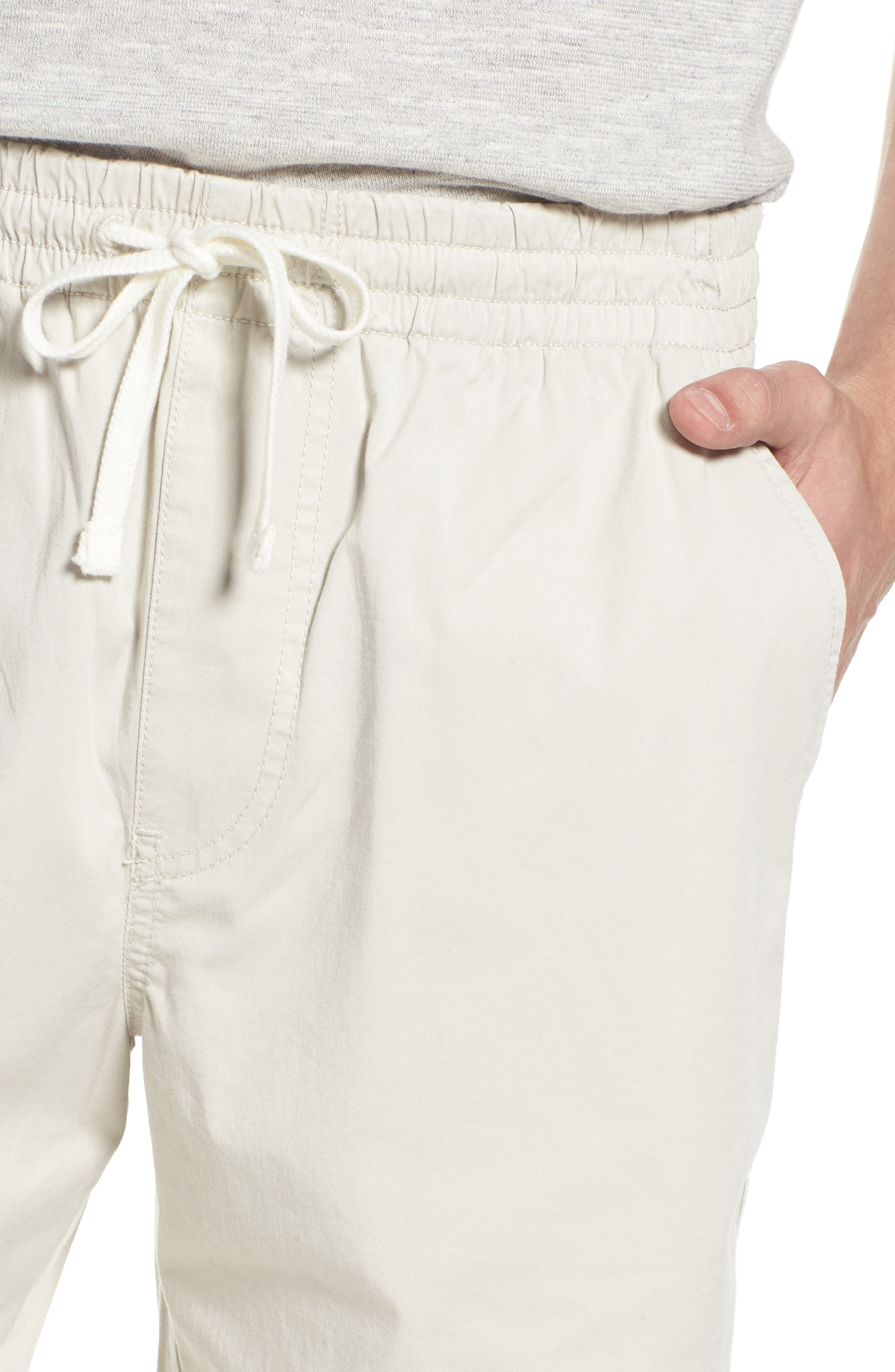 Stretch Chino Dock Shorts,                             Alternate thumbnail 6, color,                             Stone
