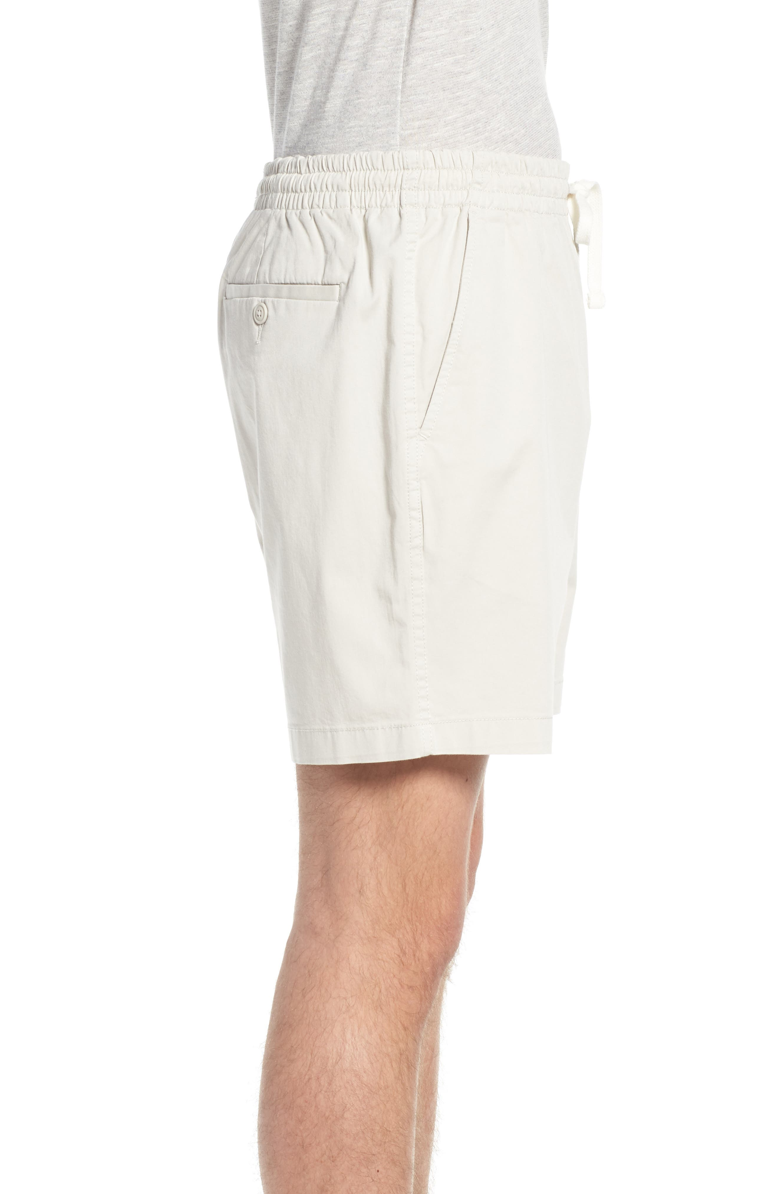Stretch Chino Dock Shorts,                             Alternate thumbnail 5, color,                             Stone