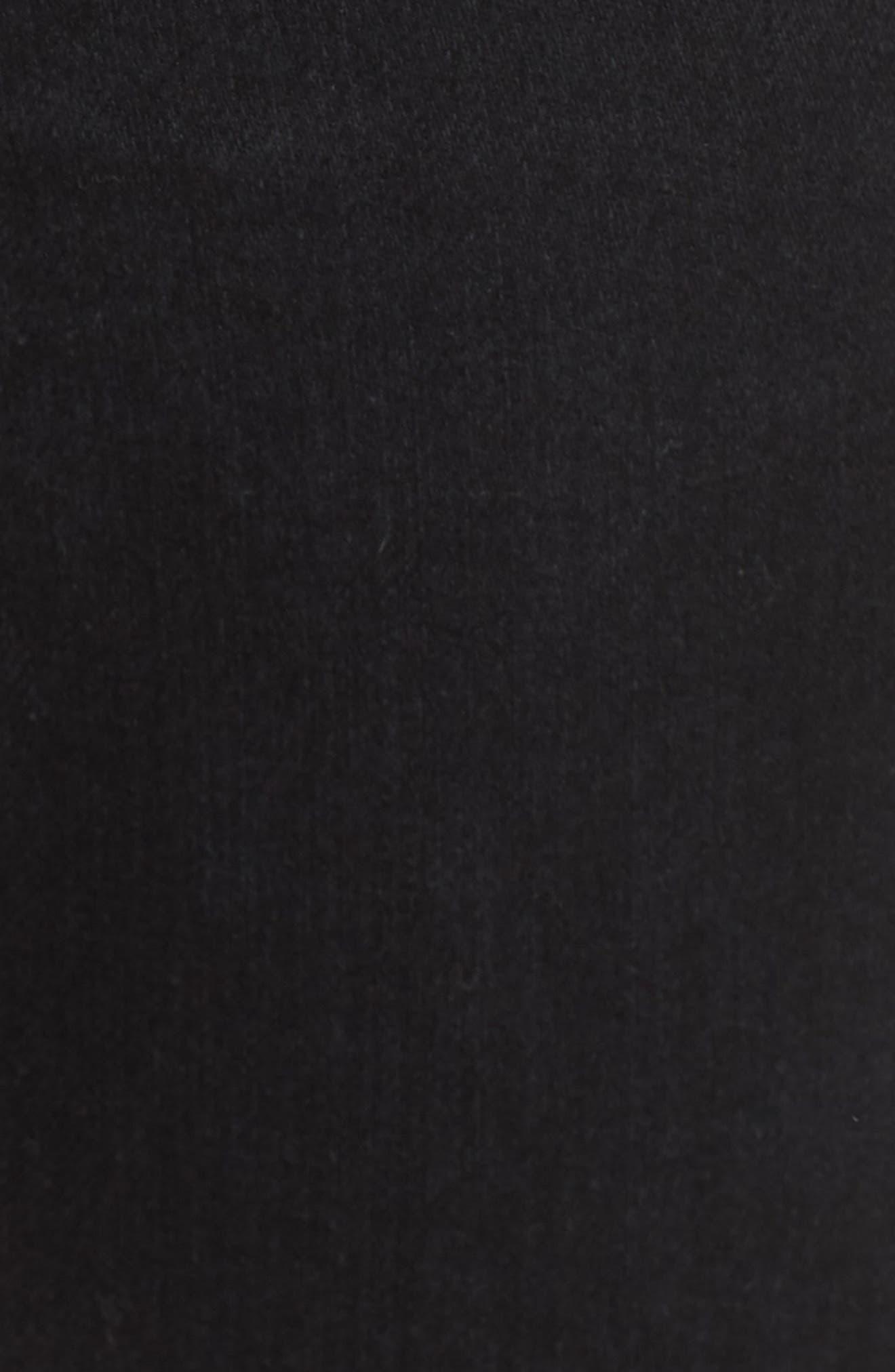 Sophia High Waist Ankle Skinny Jeans,                             Alternate thumbnail 3, color,                             1 Year Black Hawk