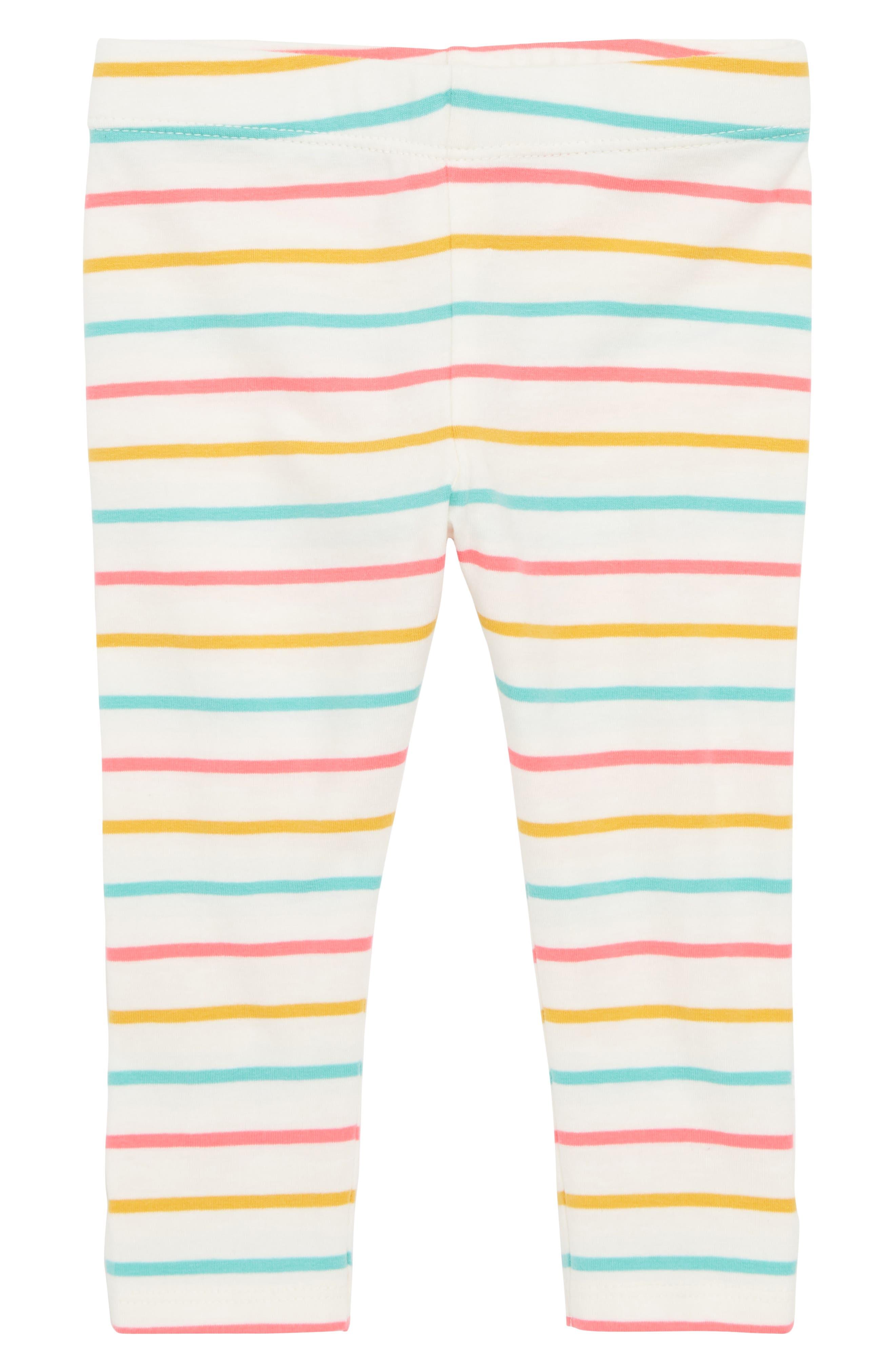 Tucker + Tate Stripe Leggings (Baby Girls)