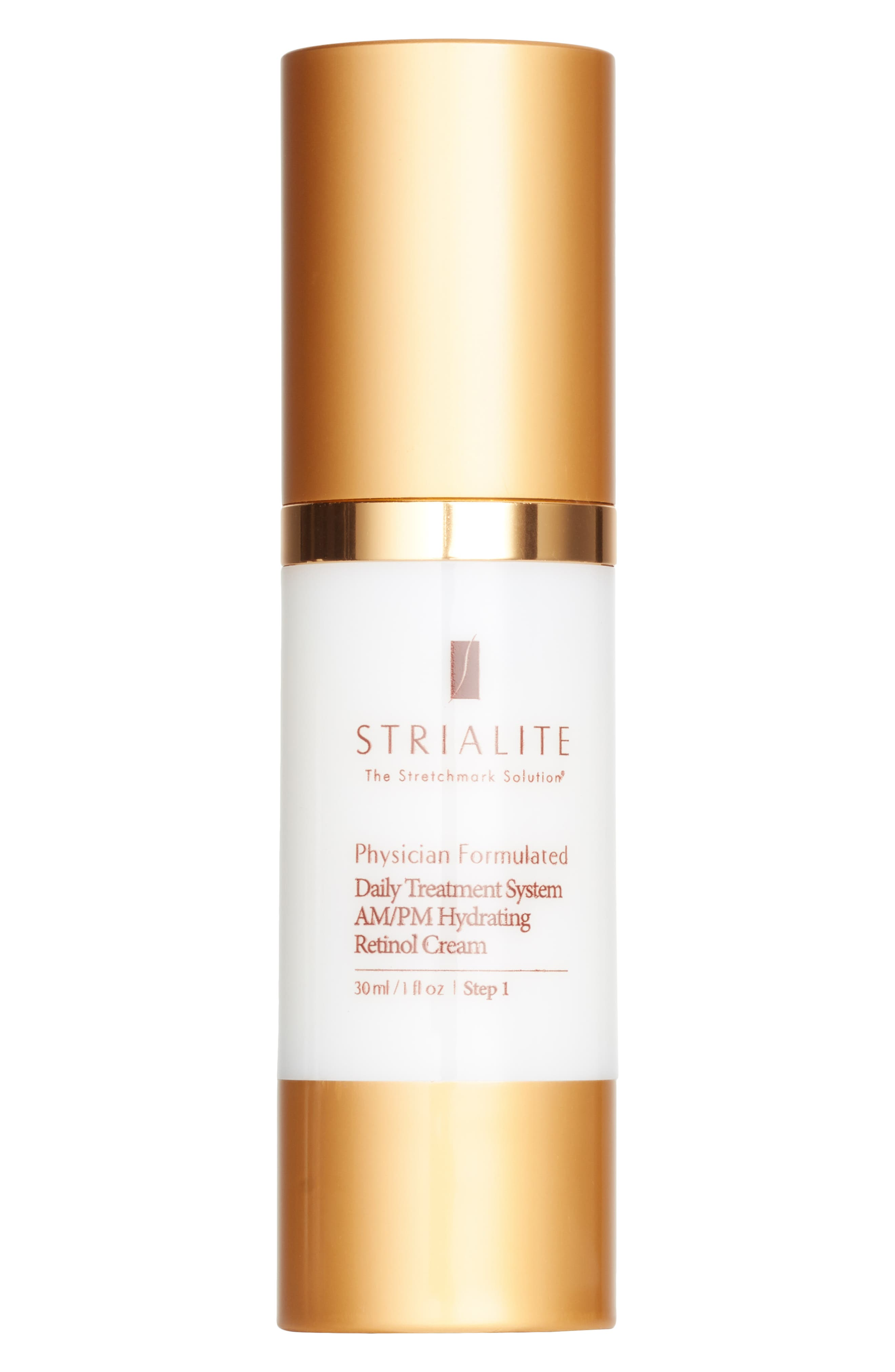The Stretchmark Solution<sup>™</sup> Daily Treatment System AM/PM Hydrating Retinol Cream,                         Main,                         color, No Color