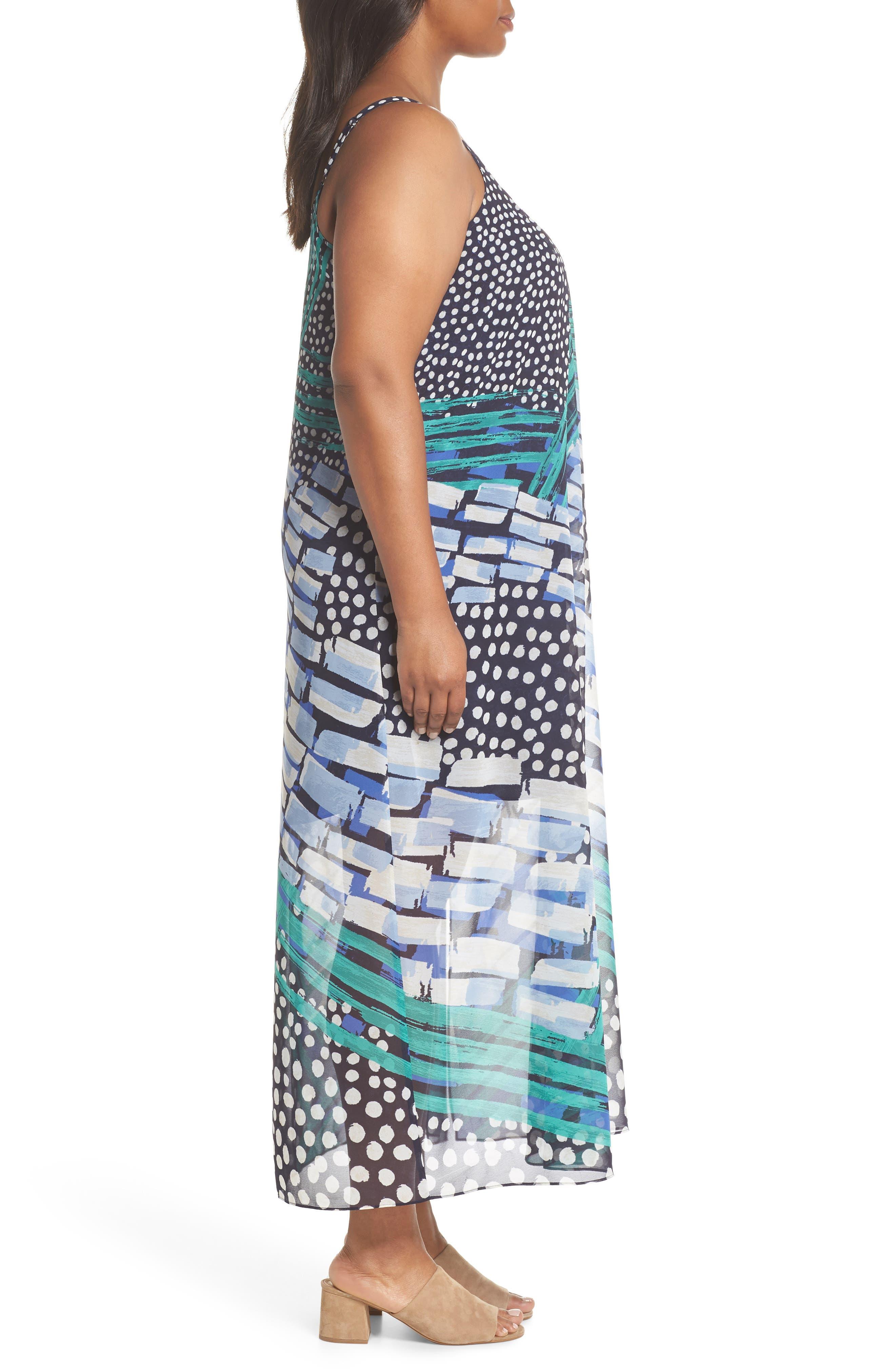 Bloom Me Away Print Maxi Dress,                             Alternate thumbnail 3, color,                             Multi