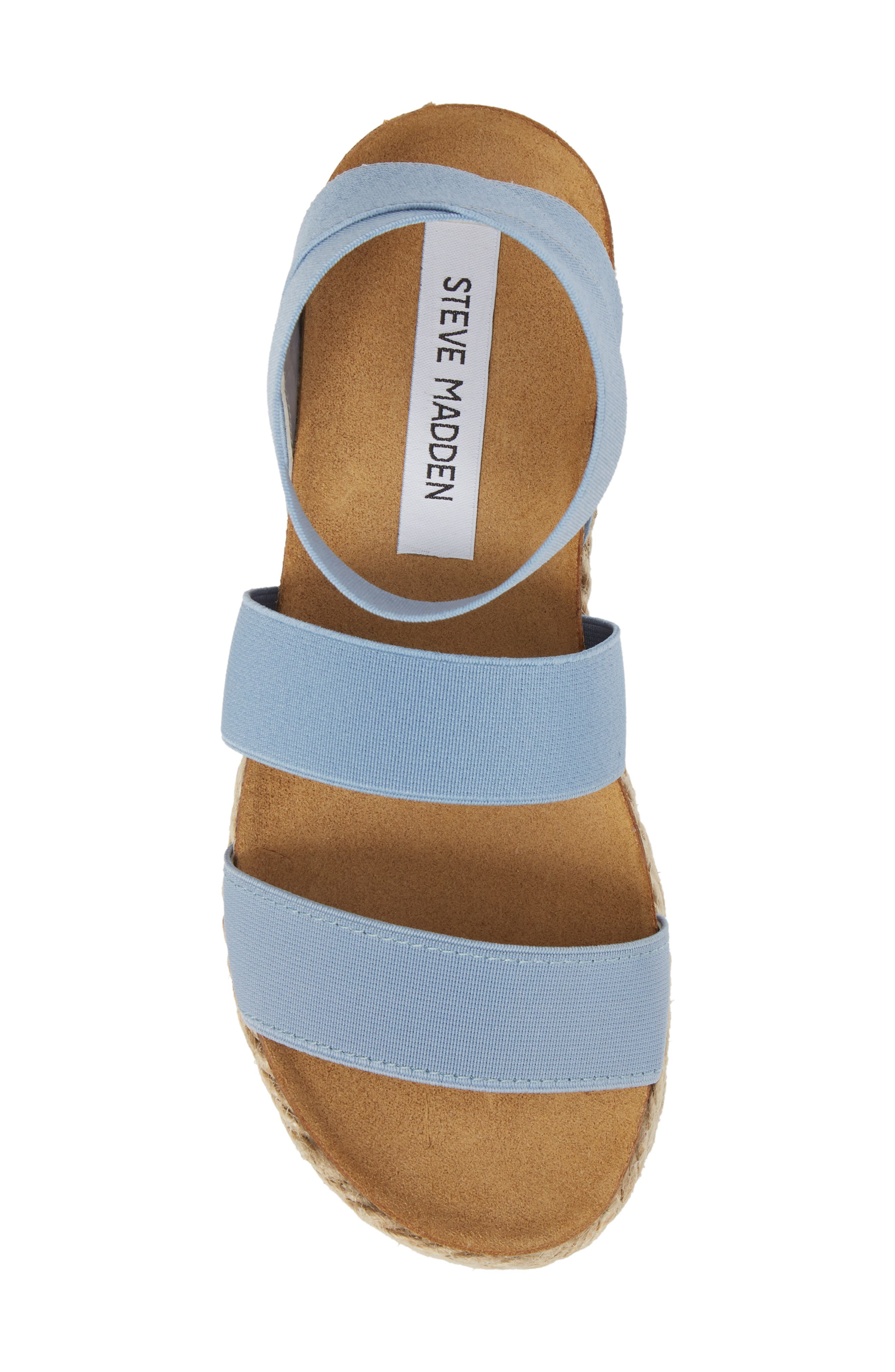 Kimmie Flatform Sandal,                             Alternate thumbnail 5, color,                             Blue