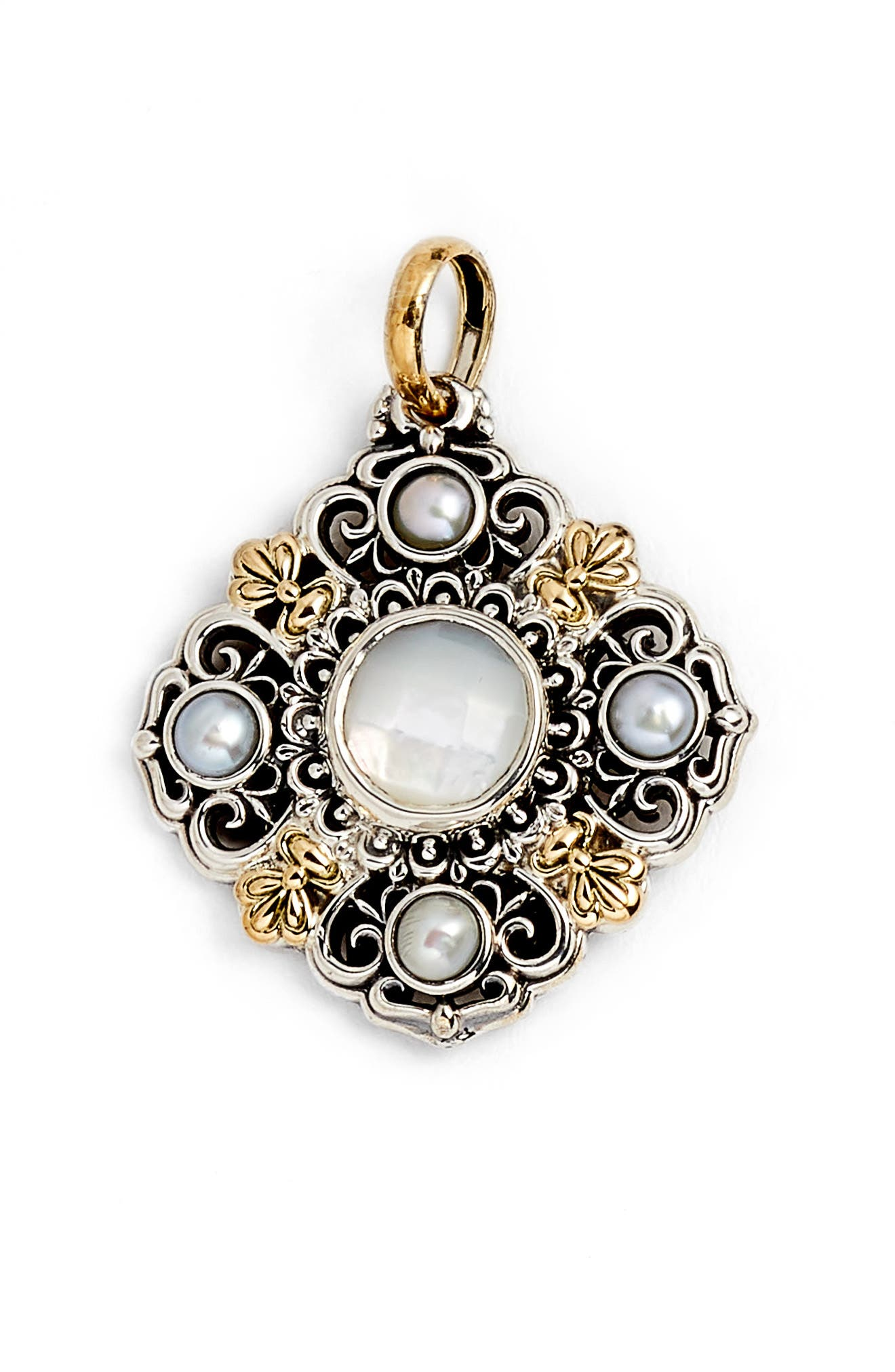 Konstantino Mother of Pearl Charm