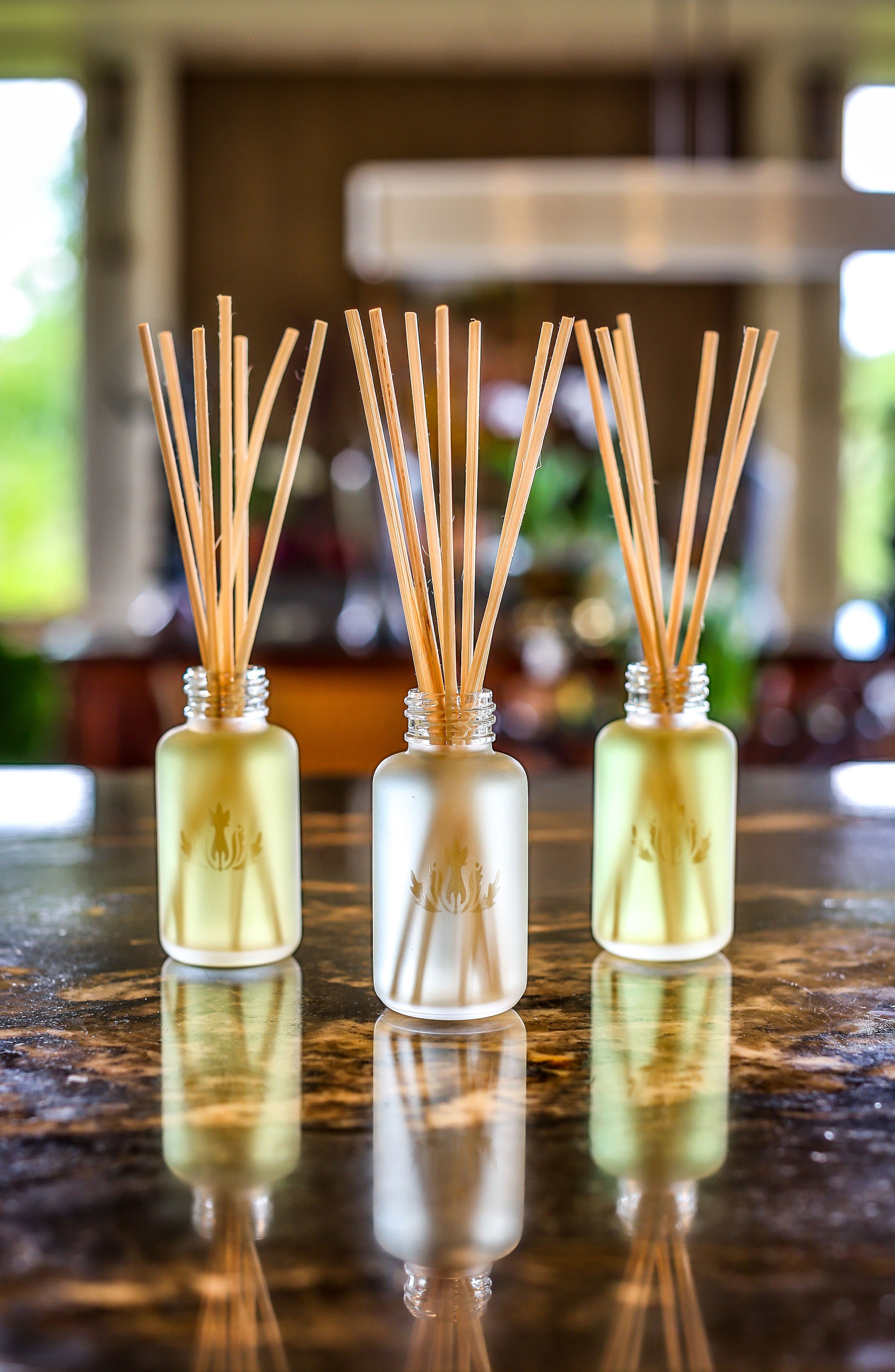Island Ambience<sup>™</sup> Plumeria Reed Diffuser,                             Alternate thumbnail 5, color,                             No Color