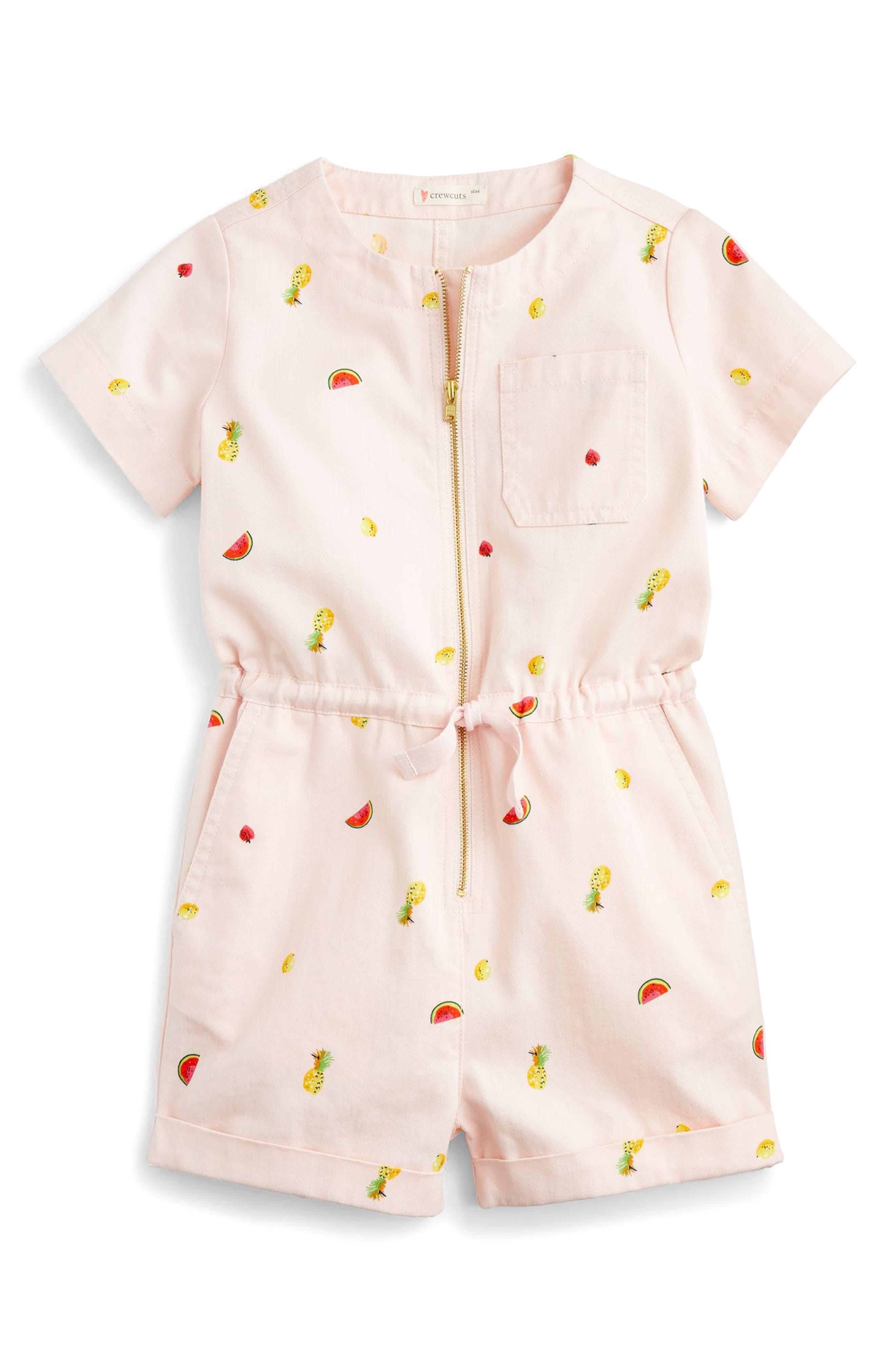 crewcuts by J. Crew Winslow Fruit Salad Romper (Toddler Girls, Little Girls & Big Girls)