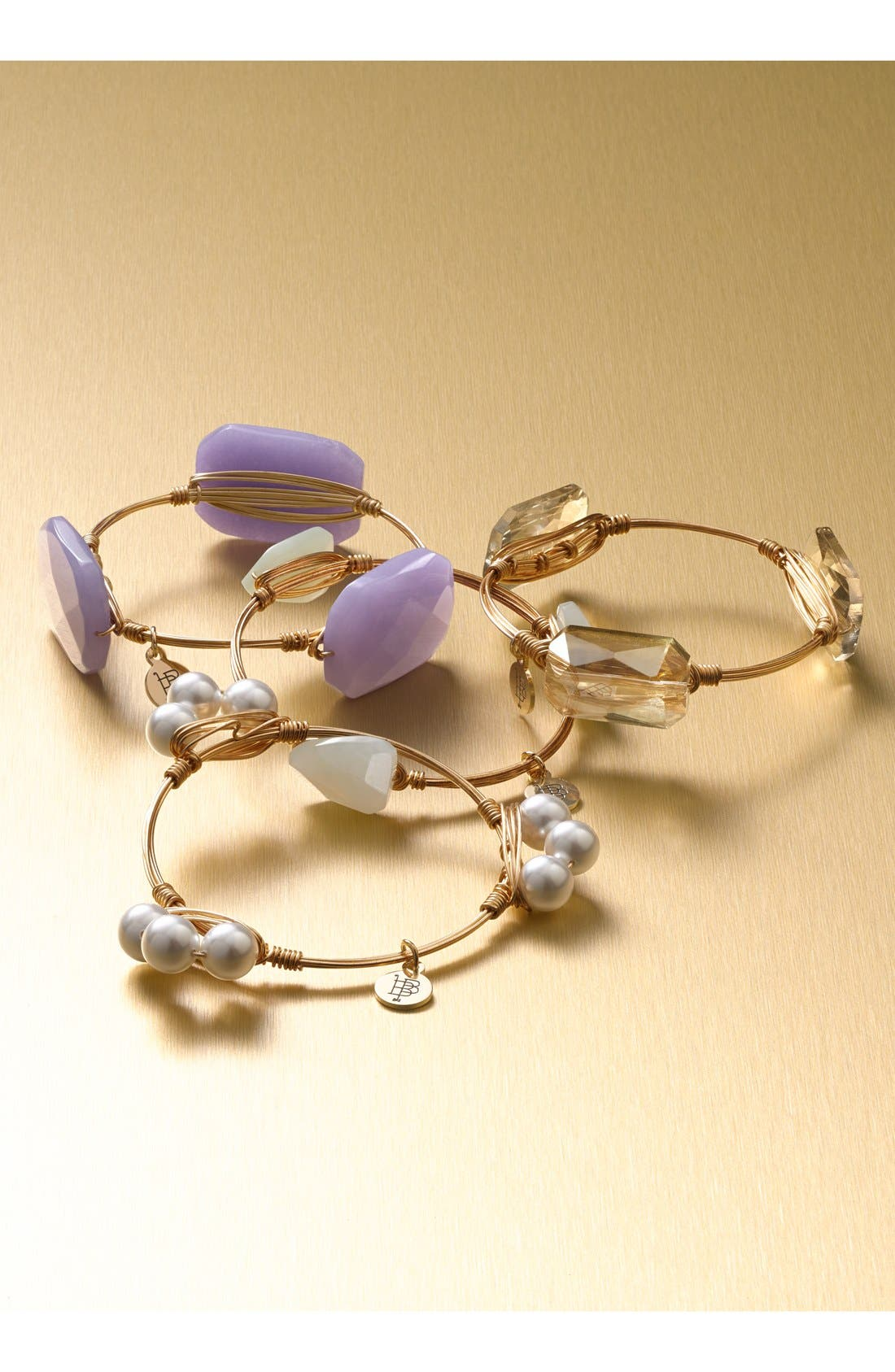 Alternate Image 2  - Bourbon and Boweties Small Stone Bracelet