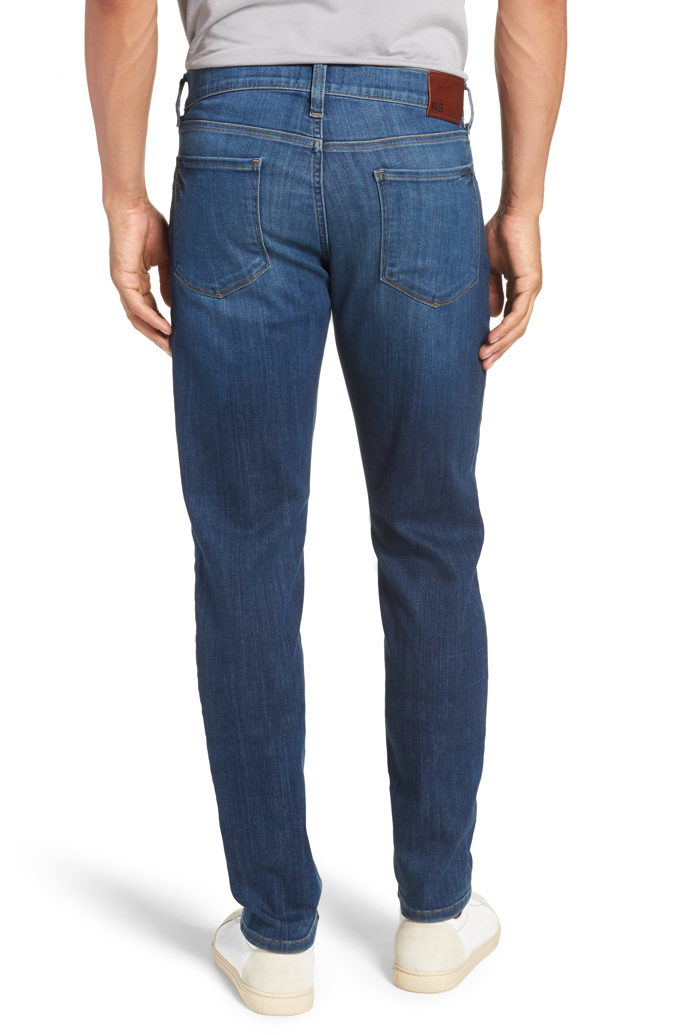 Transcend - Lennox Slim Fit Jeans,                             Alternate thumbnail 2, color,                             Ashbrook